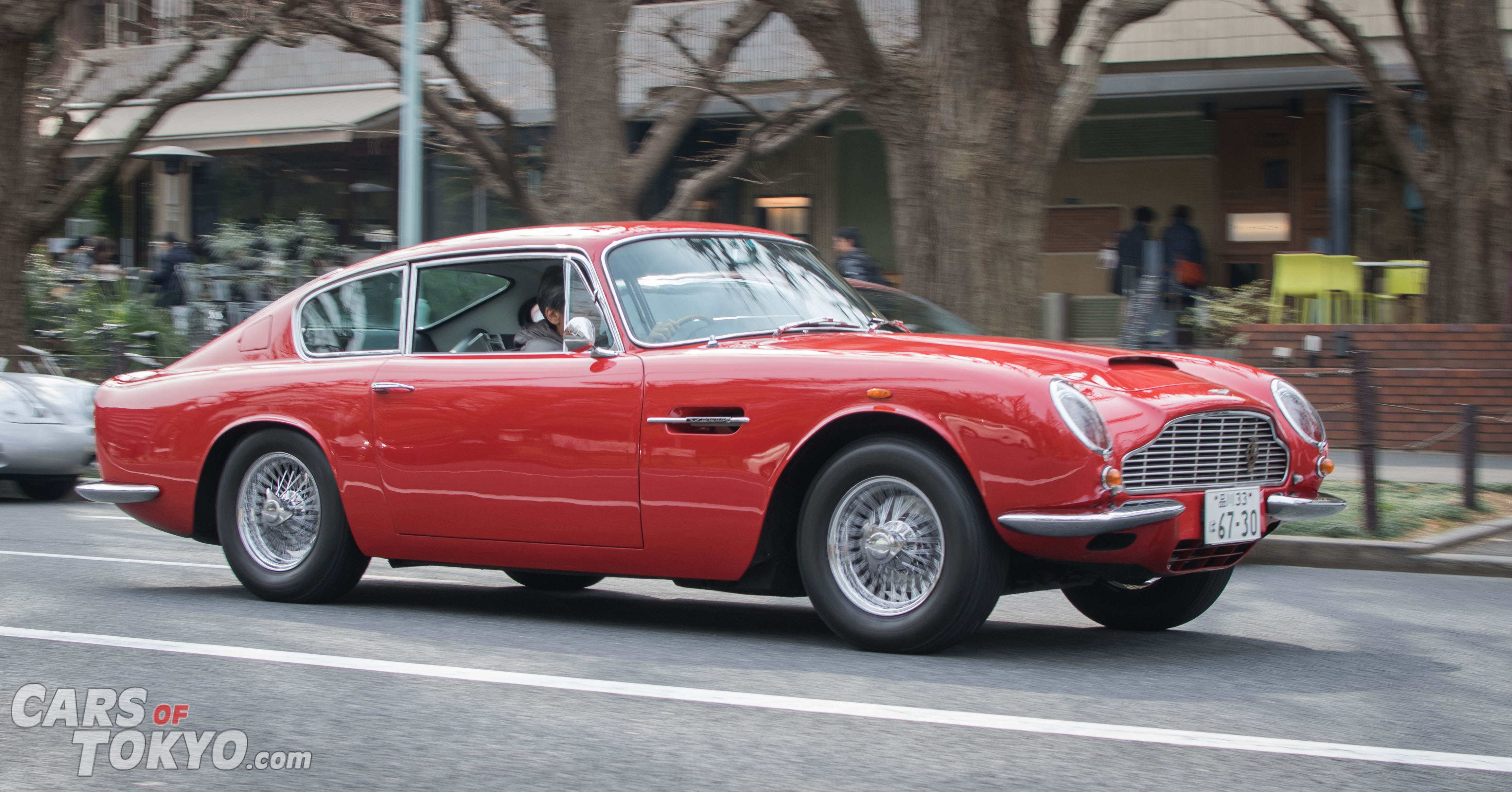 Cars of Tokyo Classic Aston Martin DB6
