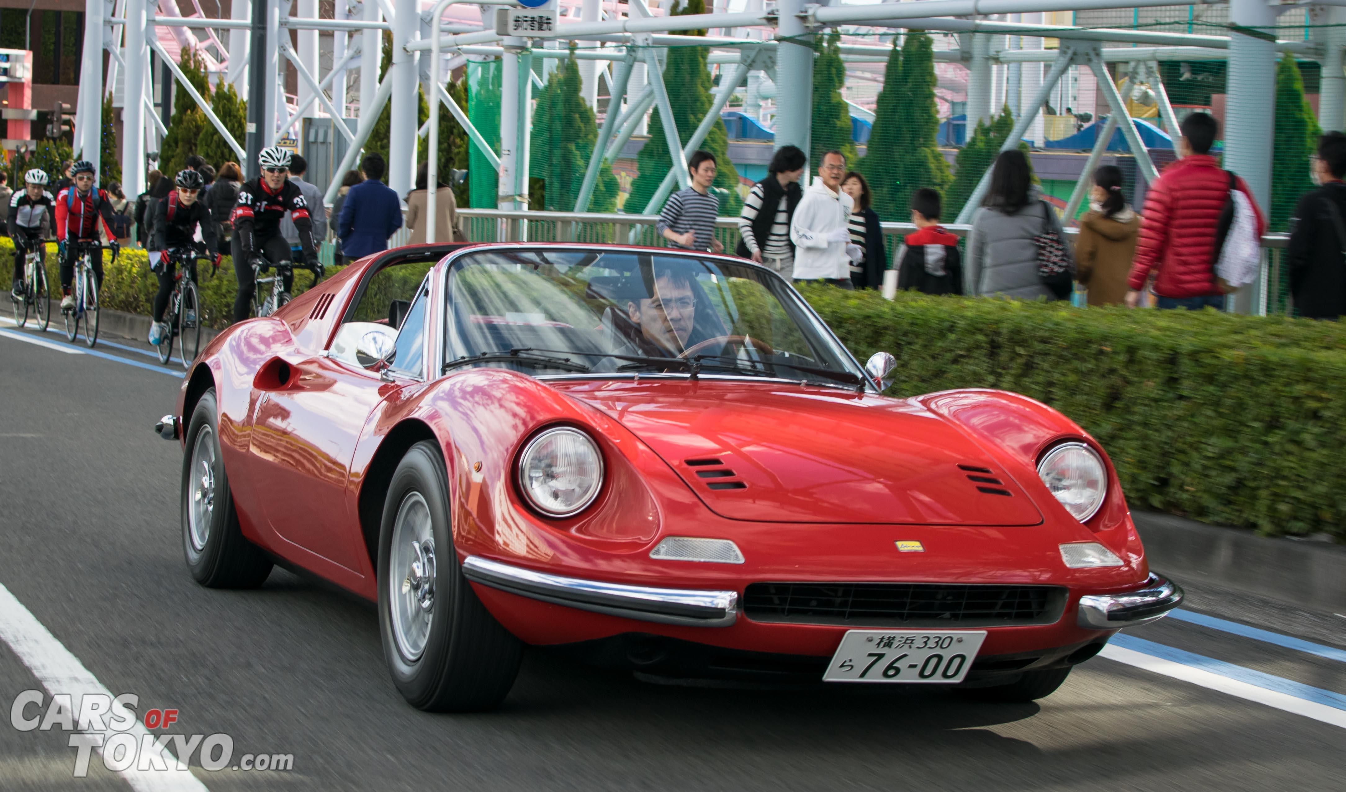 Cars of Tokyo Classic Ferrari 246 GTS