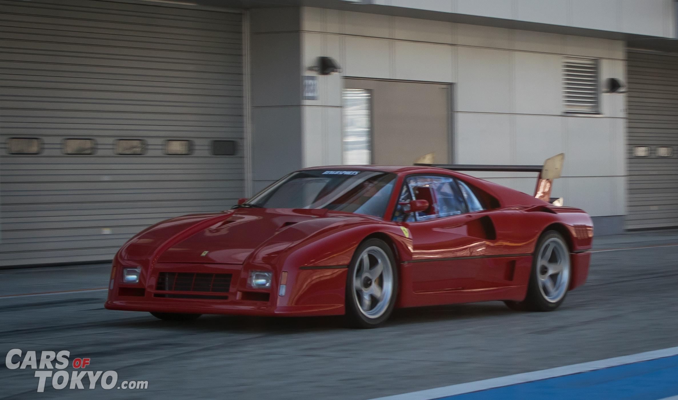 Cars of Tokyo Classic Ferrari 288 GTO Evoluzione