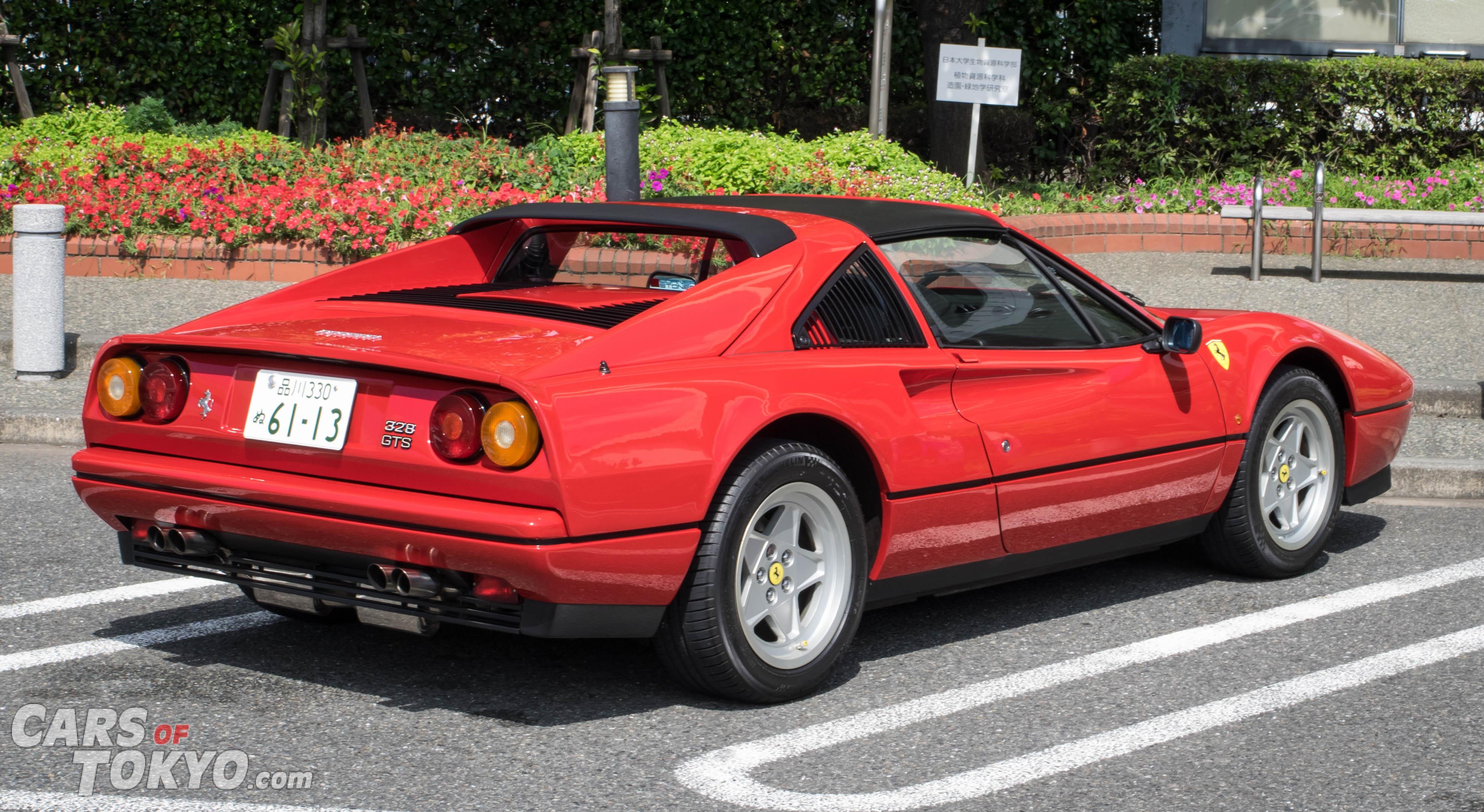 Cars of Tokyo Classic Ferrari 328 GTS