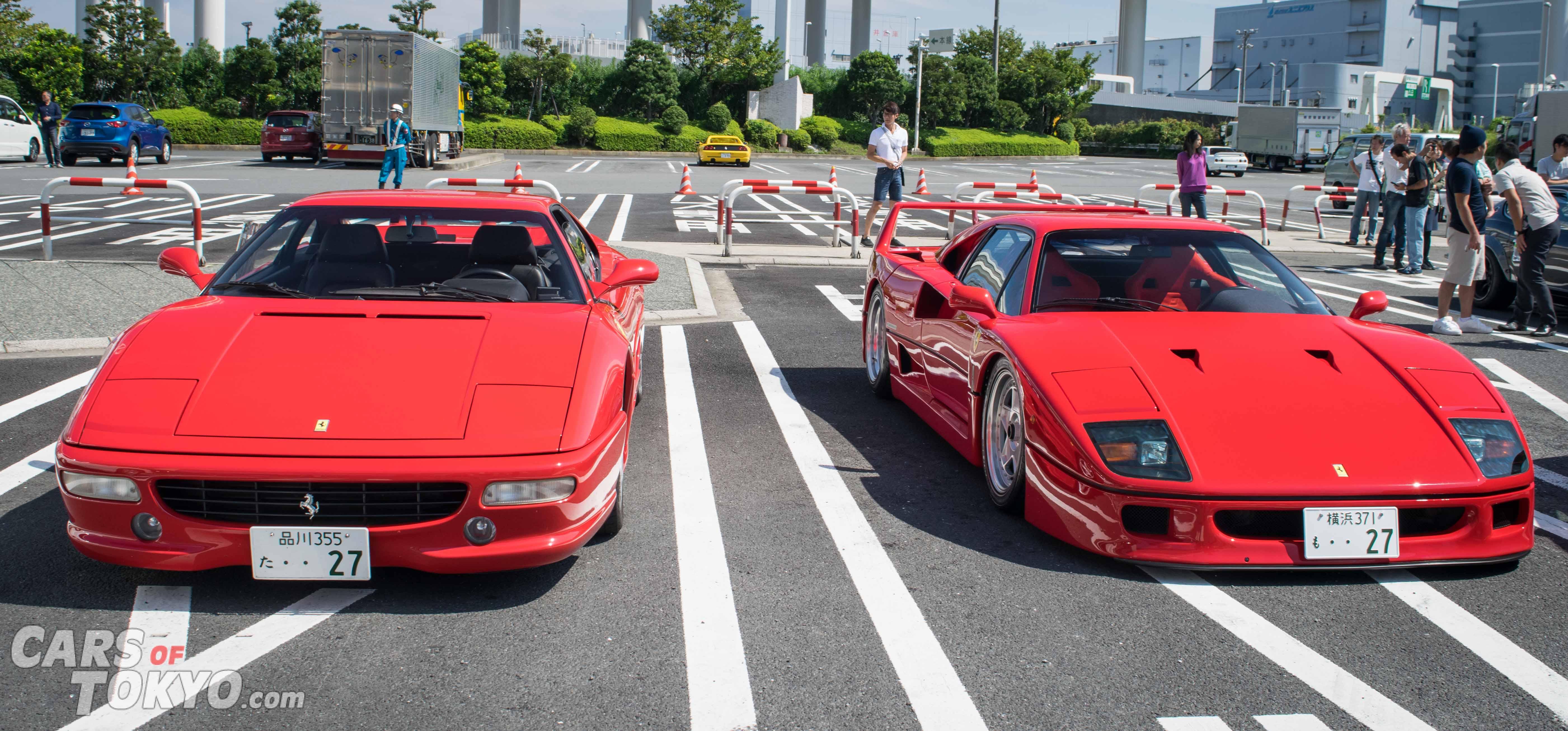 Cars of Tokyo Classic Ferrari 355 & F40