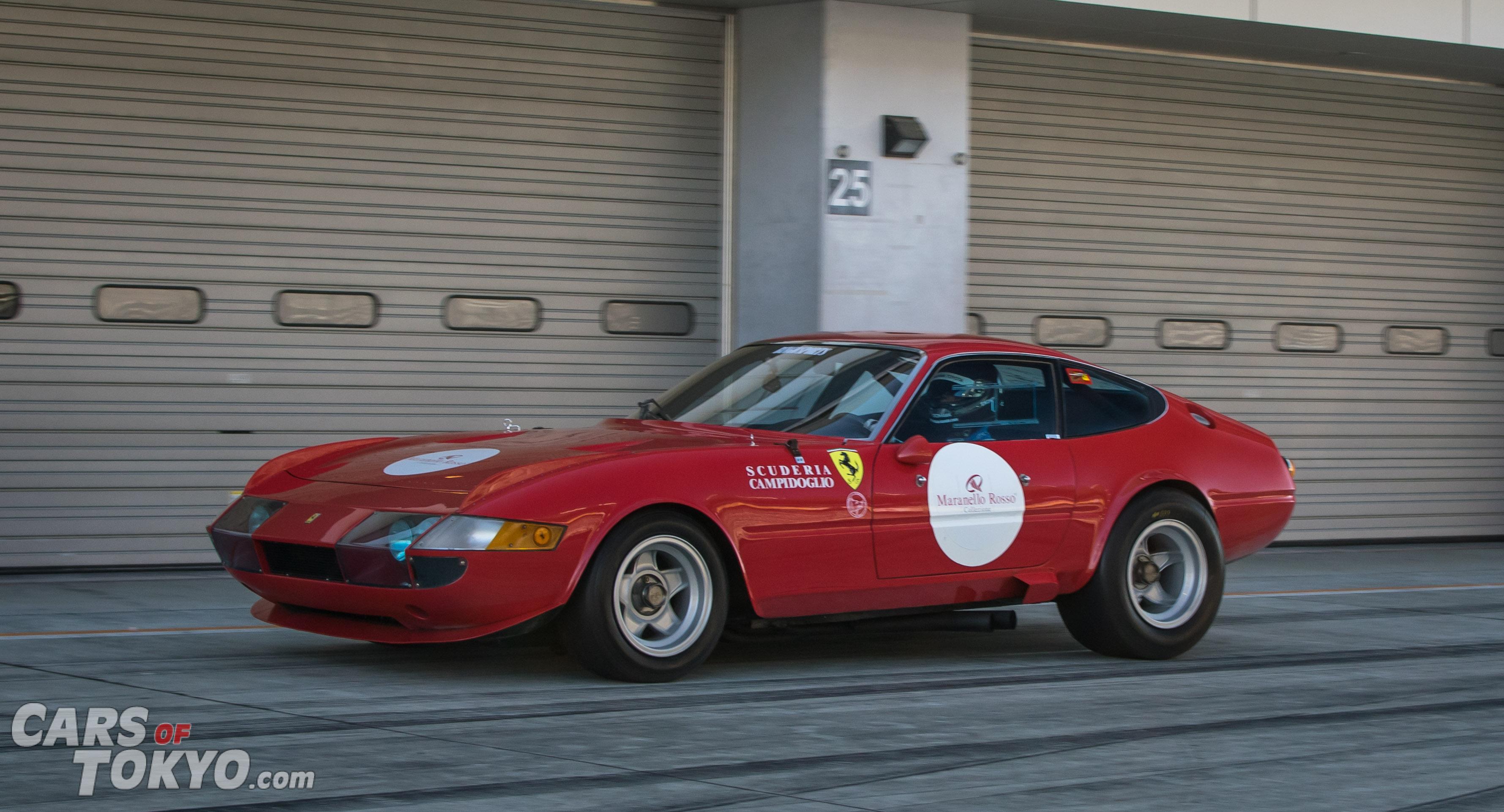 Cars of Tokyo Classic Ferrari 365 Daytona Competizione
