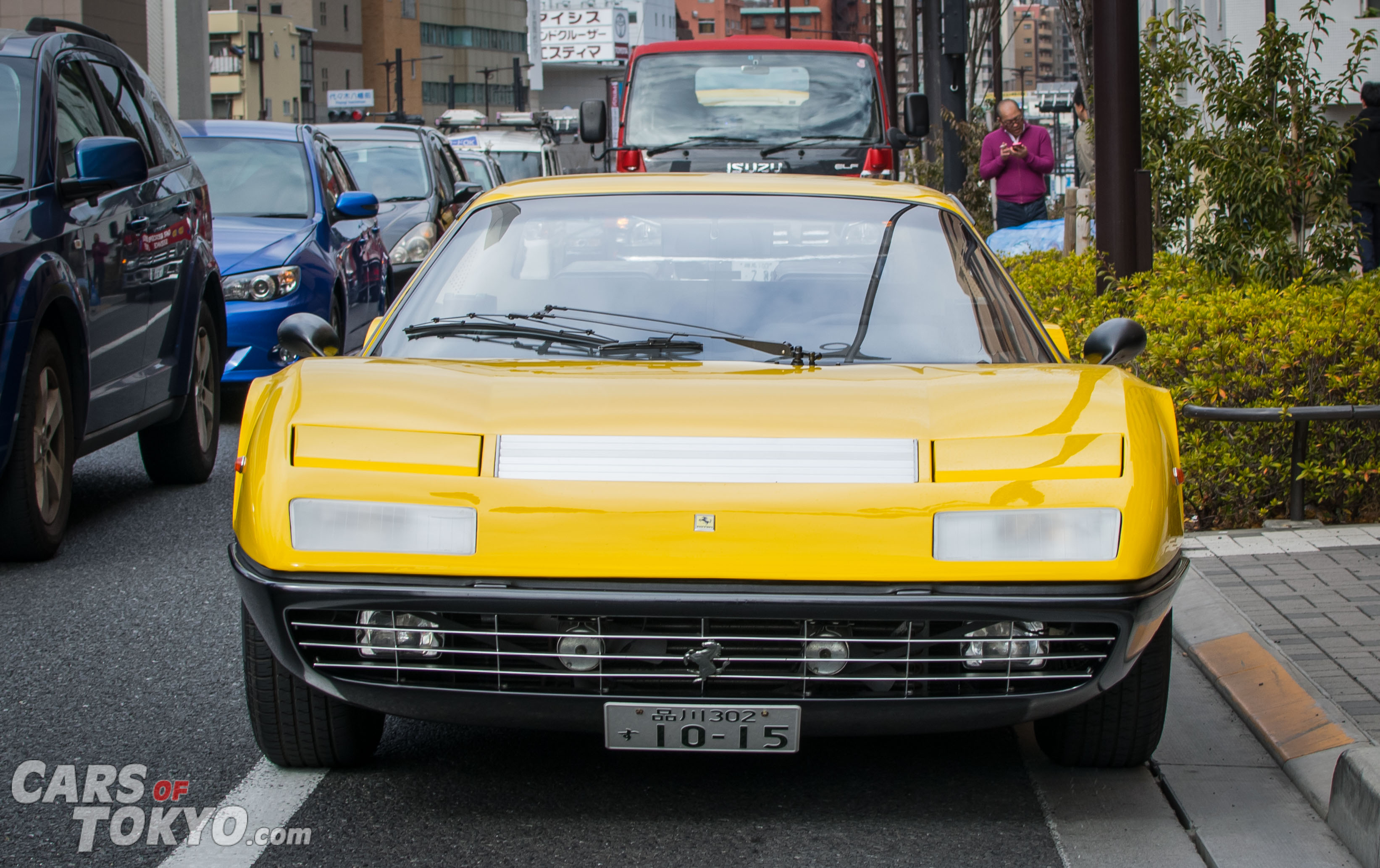 Cars of Tokyo Classic Ferrari 365BB