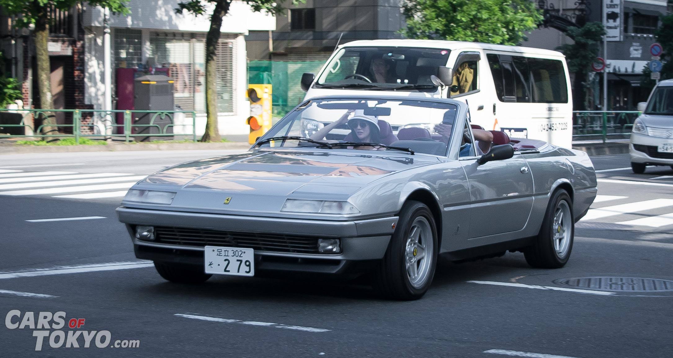 Cars of Tokyo Classic Ferrari 412 Convertible