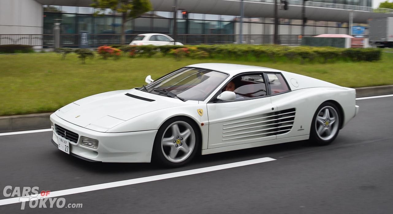 Cars of Tokyo Classic Ferrari 512TR White