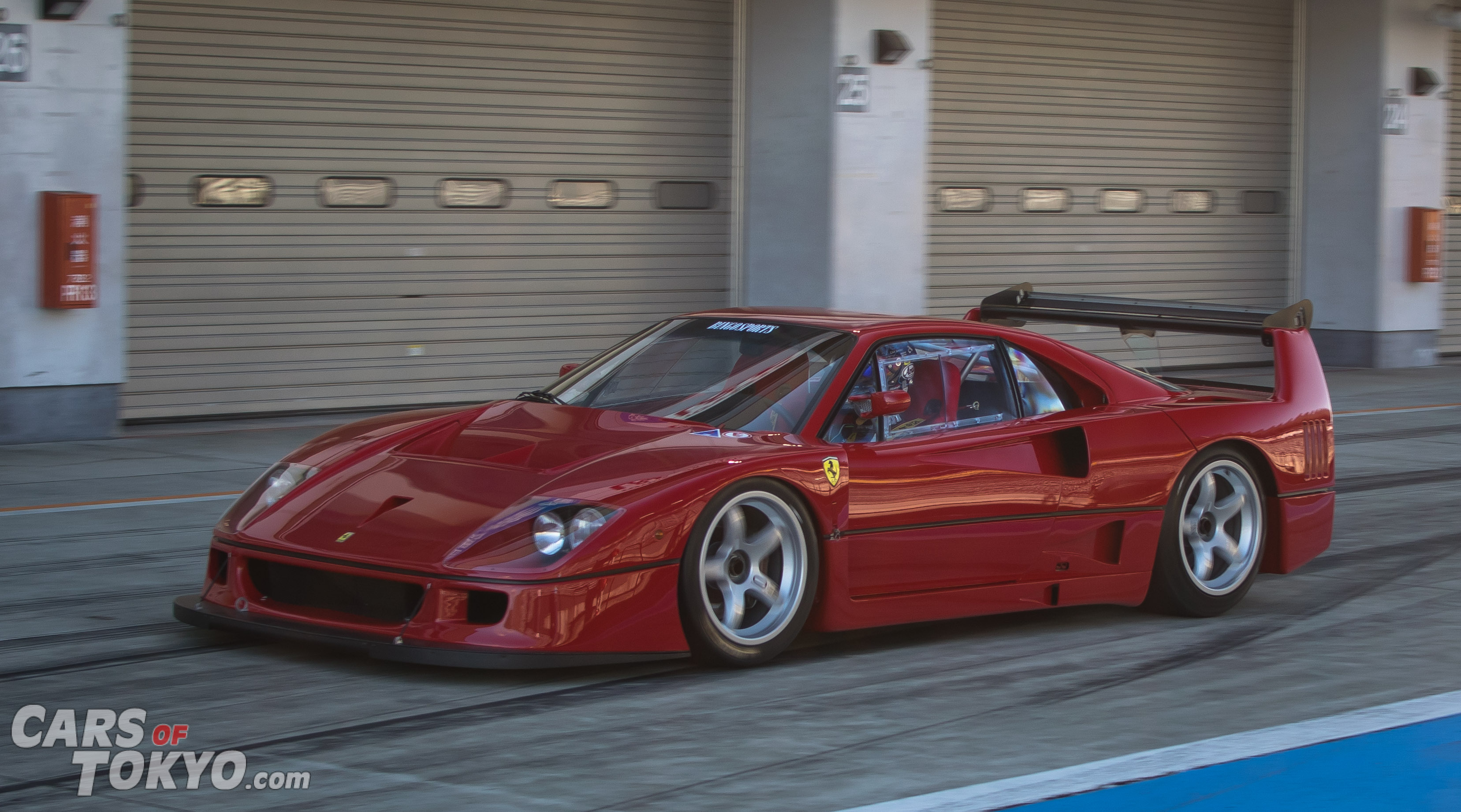 Cars of Tokyo Classic Ferrari F40 LM