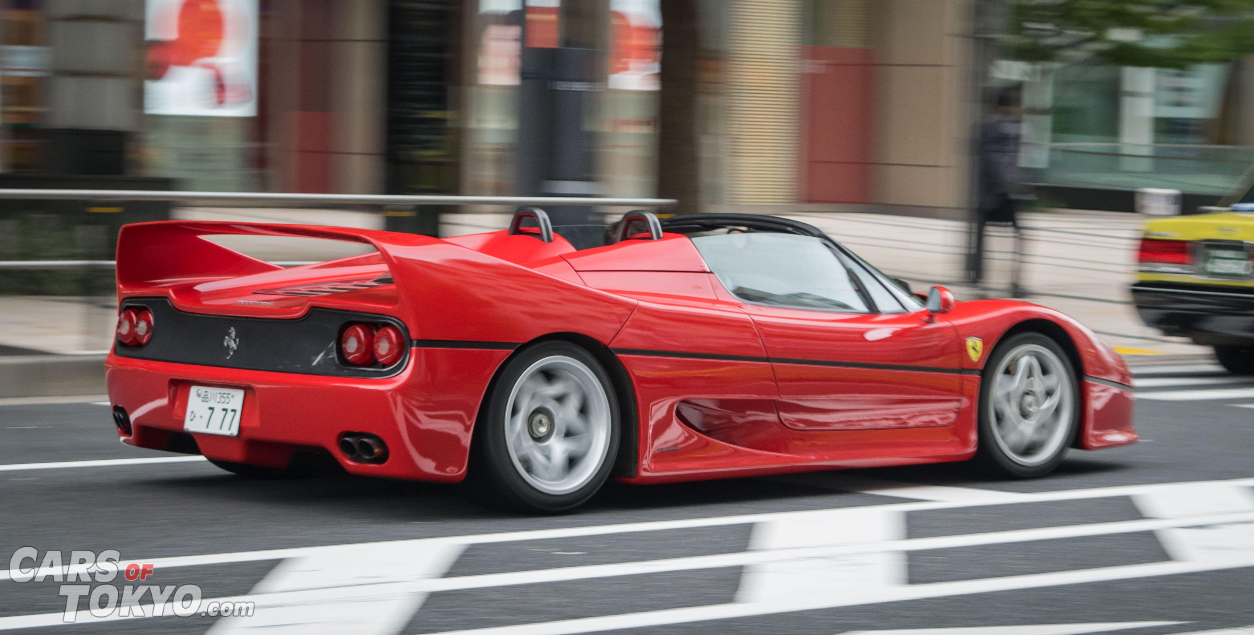 Cars of Tokyo Classic Ferrari F50