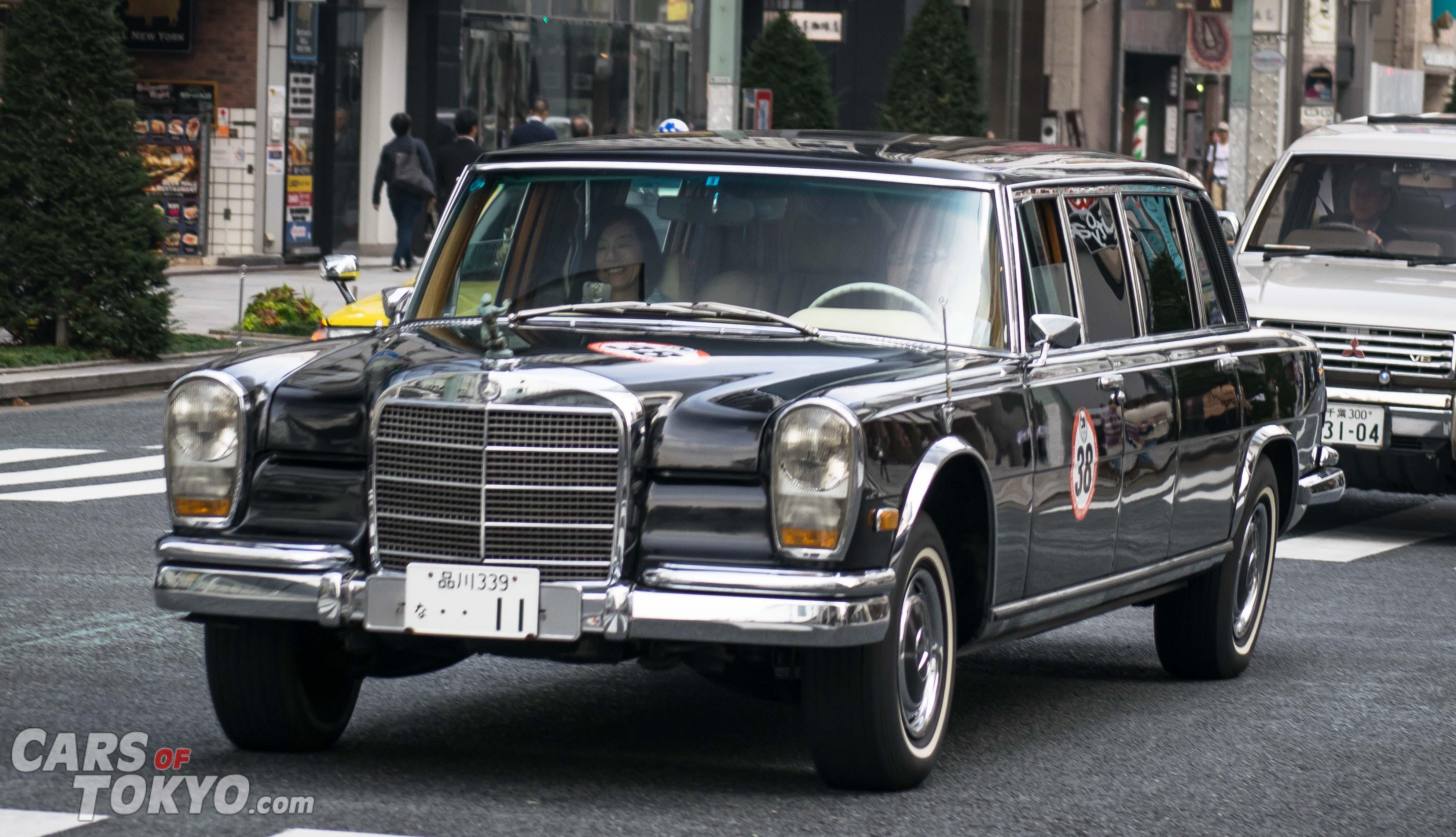 Cars of Tokyo Classic Mercedes Benz 600 Pullman