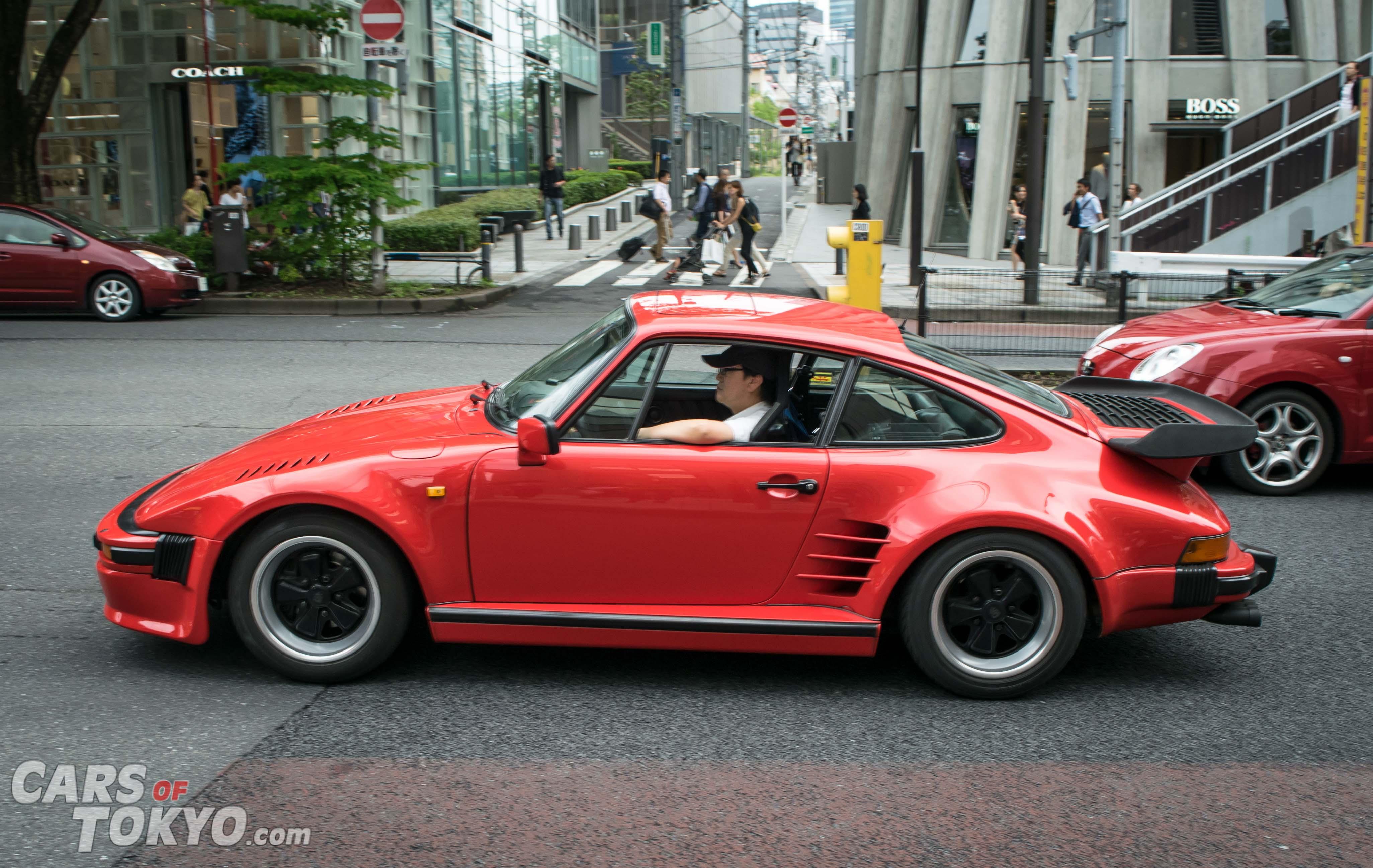 Cars of Tokyo Classic Porsche 911 Flatnose