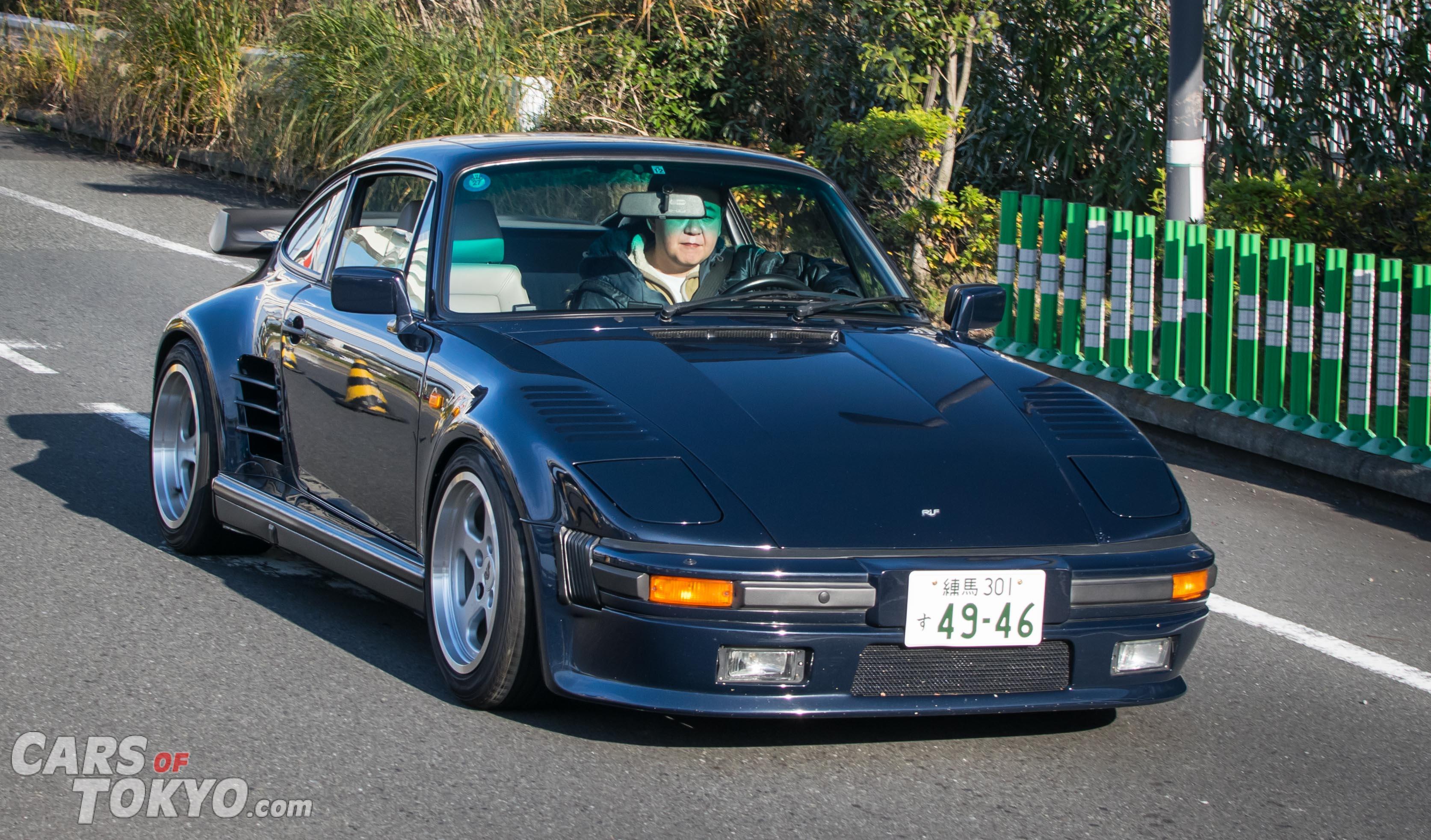 Cars of Tokyo Classic Porsche 911 Slantnose RUF