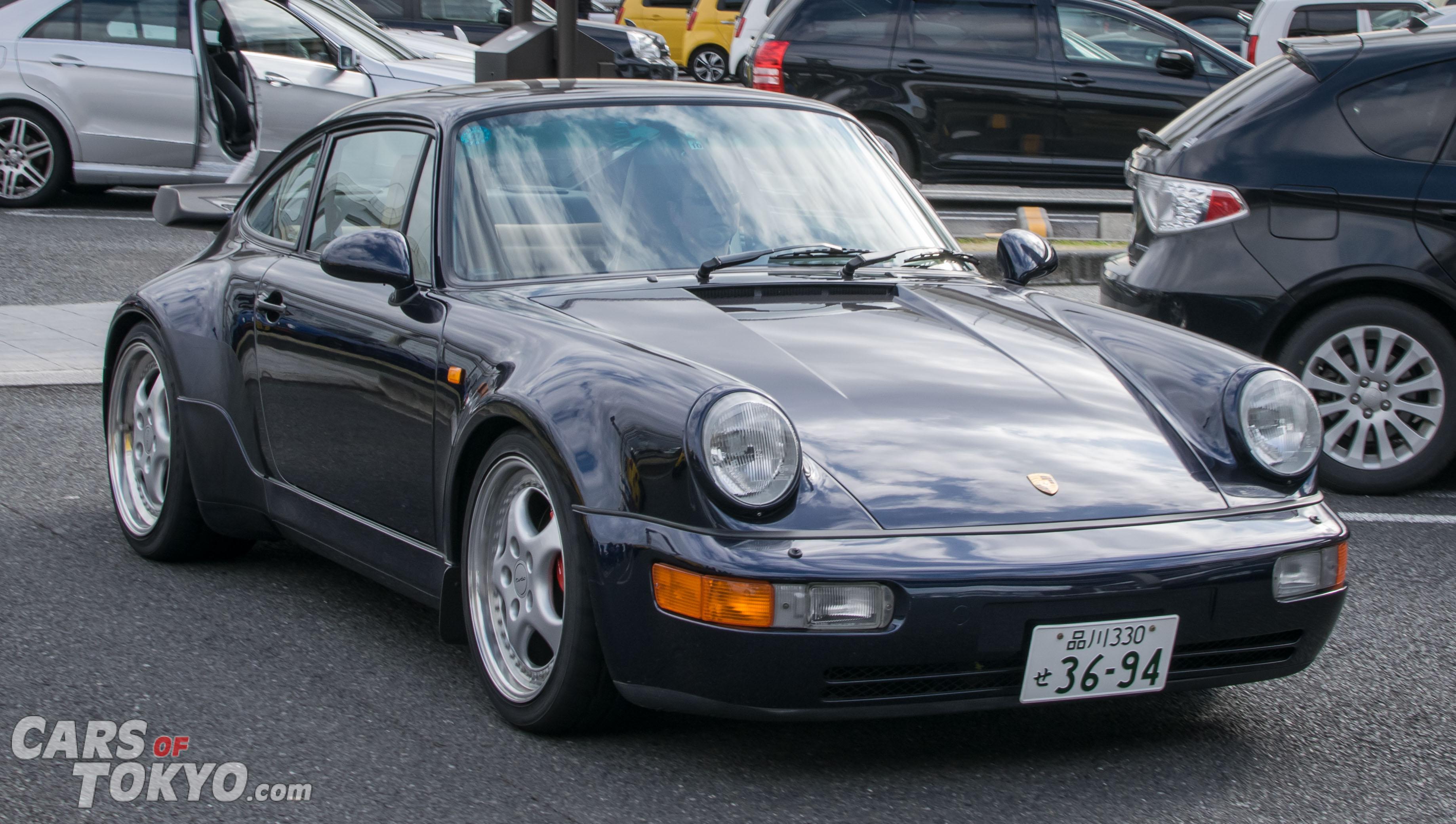 Cars of Tokyo Classic Porsche 911 Turbo