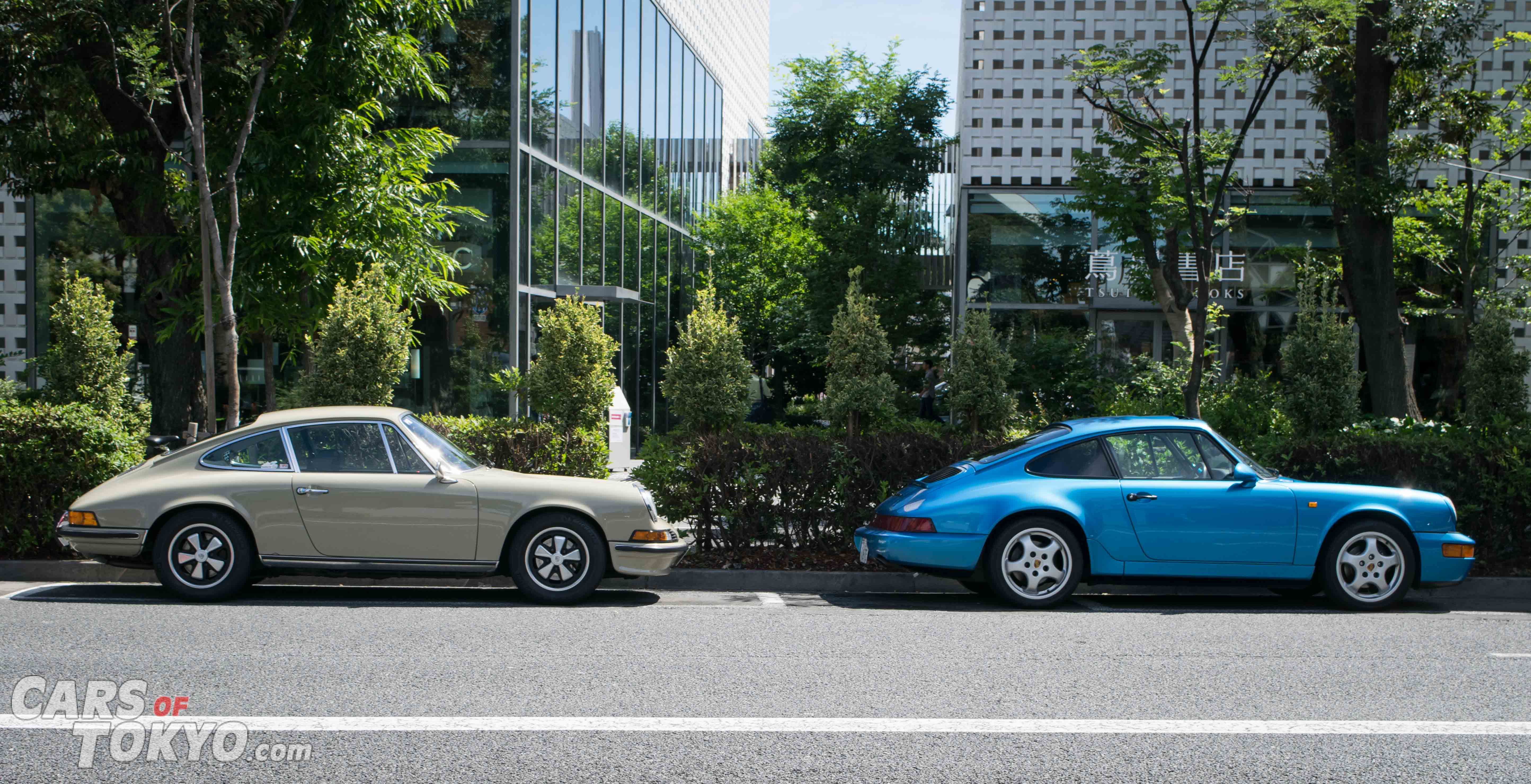 Cars of Tokyo Classic Porsche 911