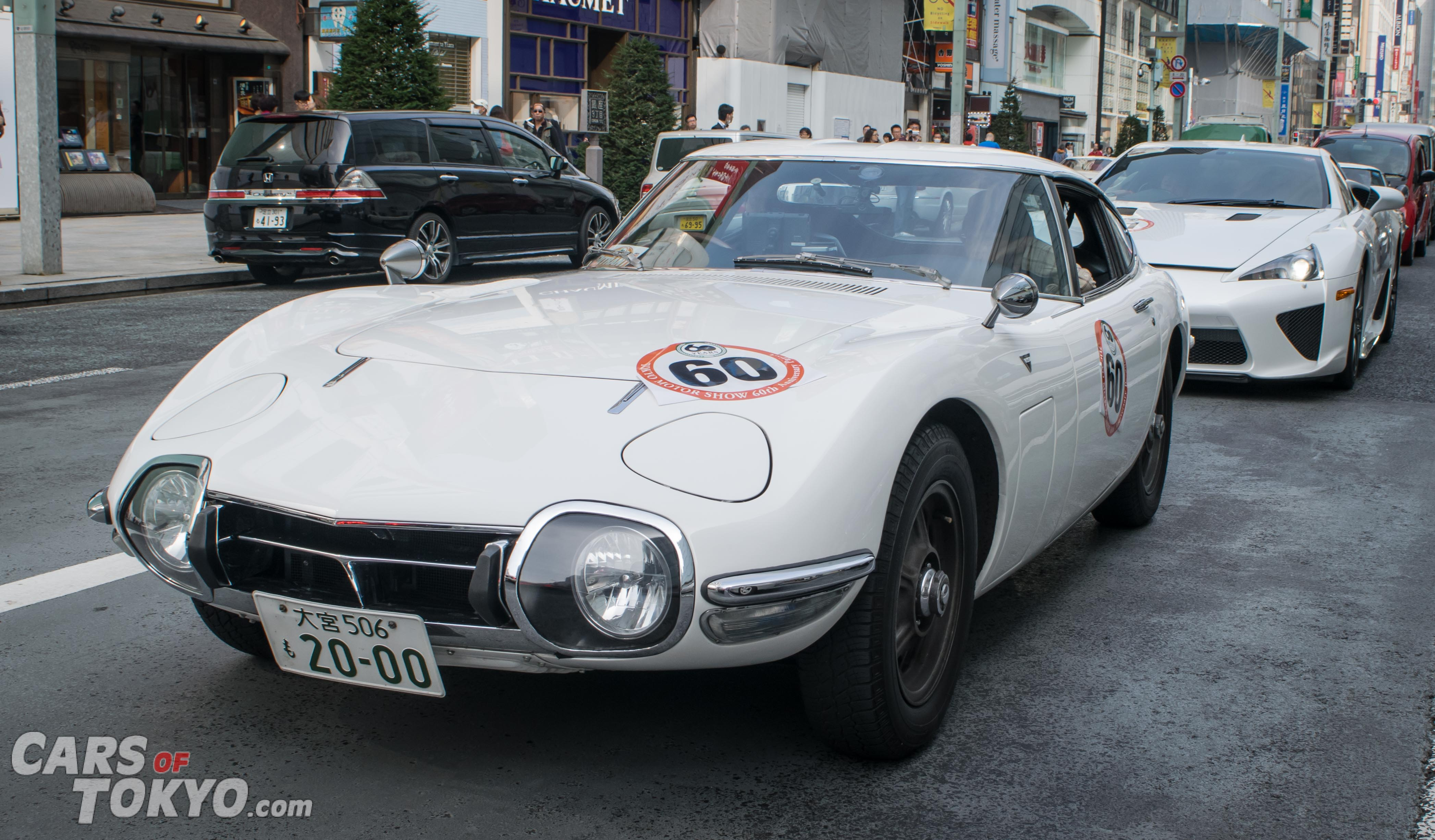 Cars of Tokyo Classic Toyota 2000GT