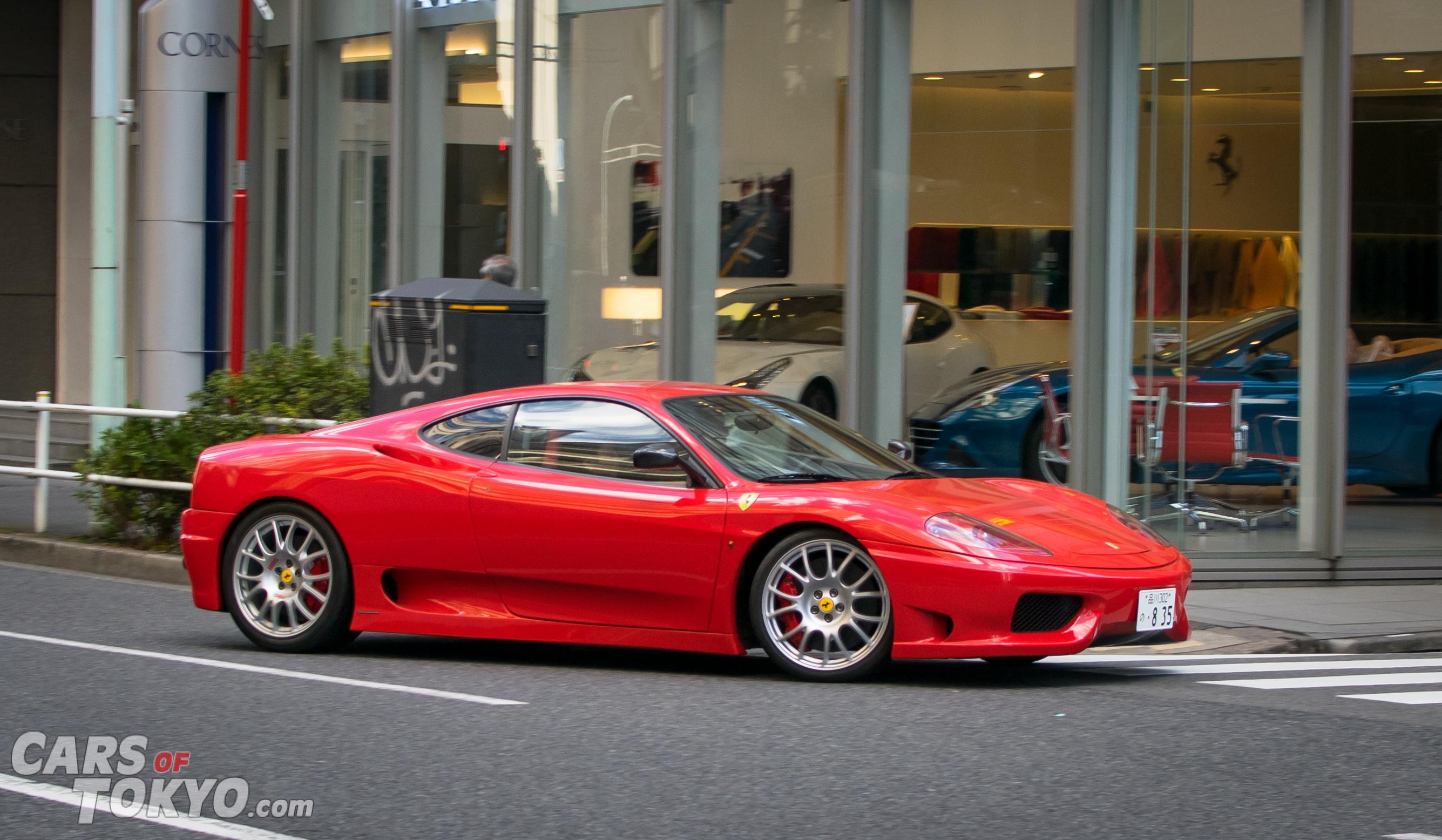 Cars of Tokyo Clean Ferrari 360 Challenge Stradale