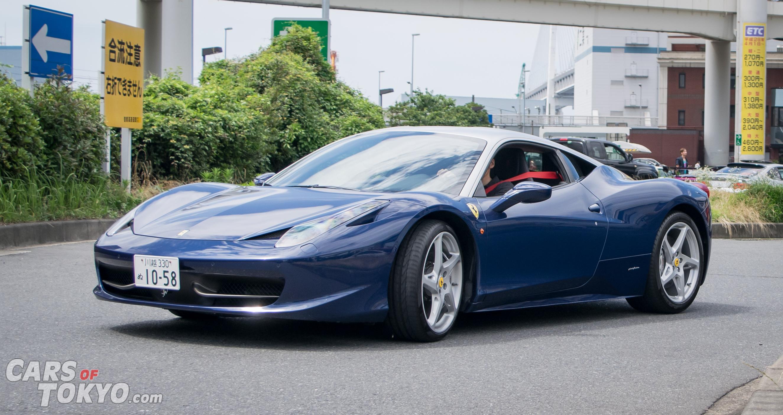 Cars of Tokyo Clean Ferrari 458 Italia