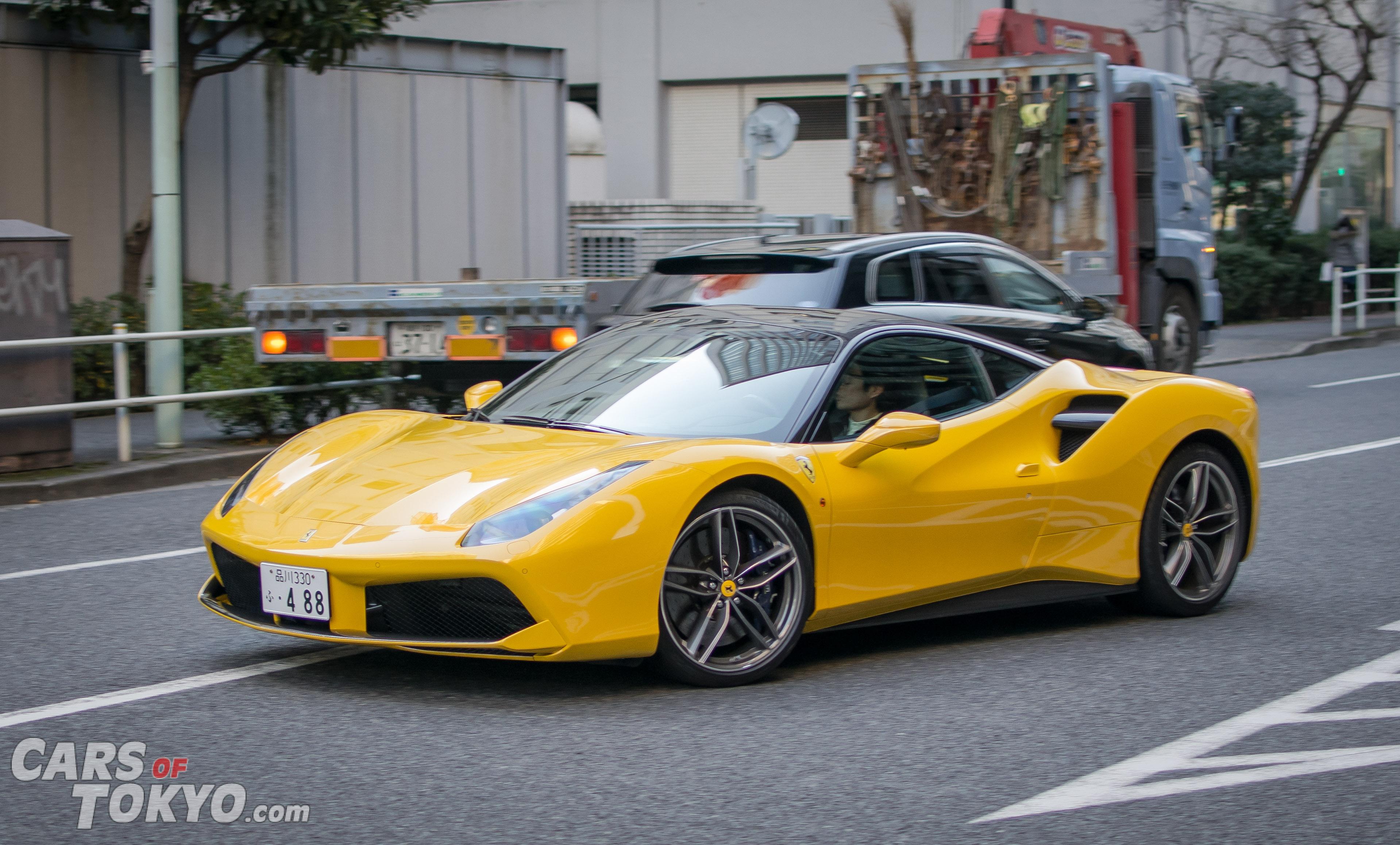 Cars of Tokyo Clean Ferrari 488 GTB