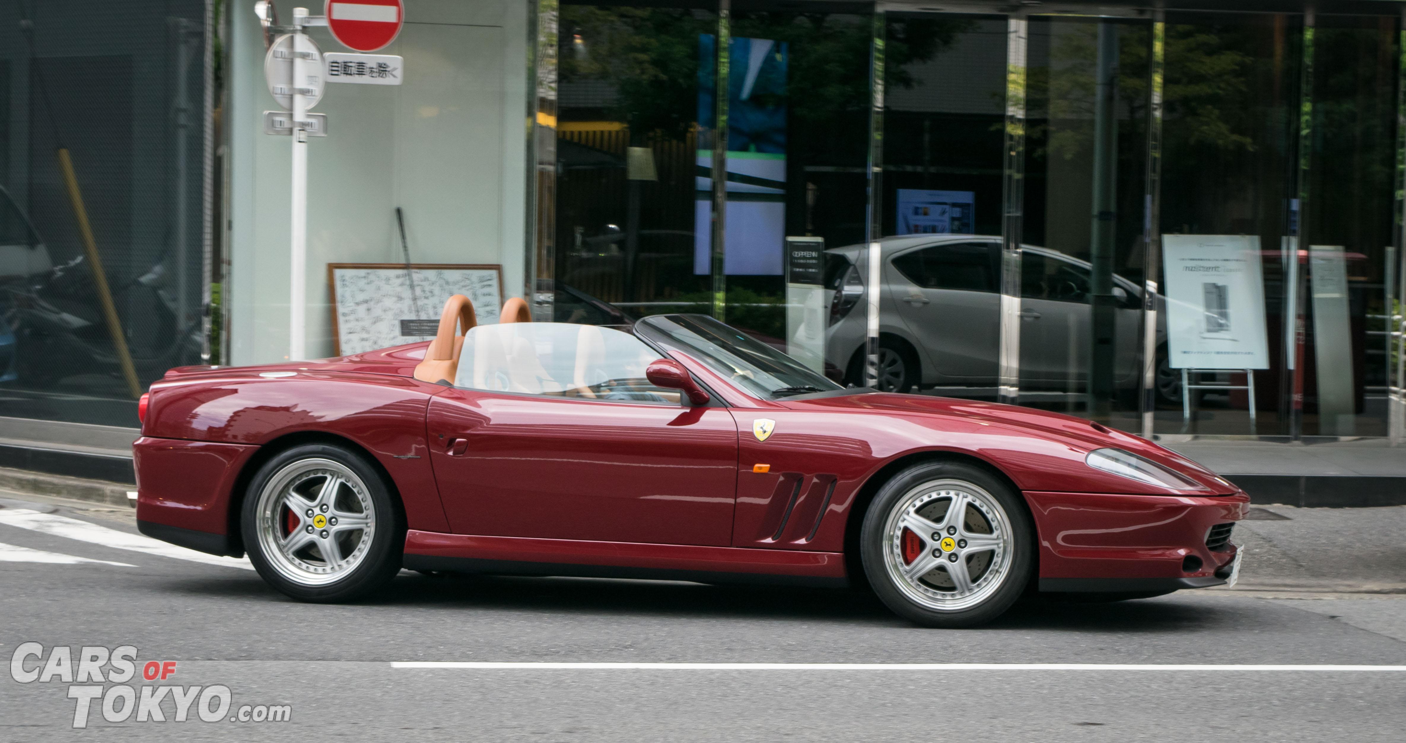 Cars of Tokyo Clean Ferrari 550 Barchetta