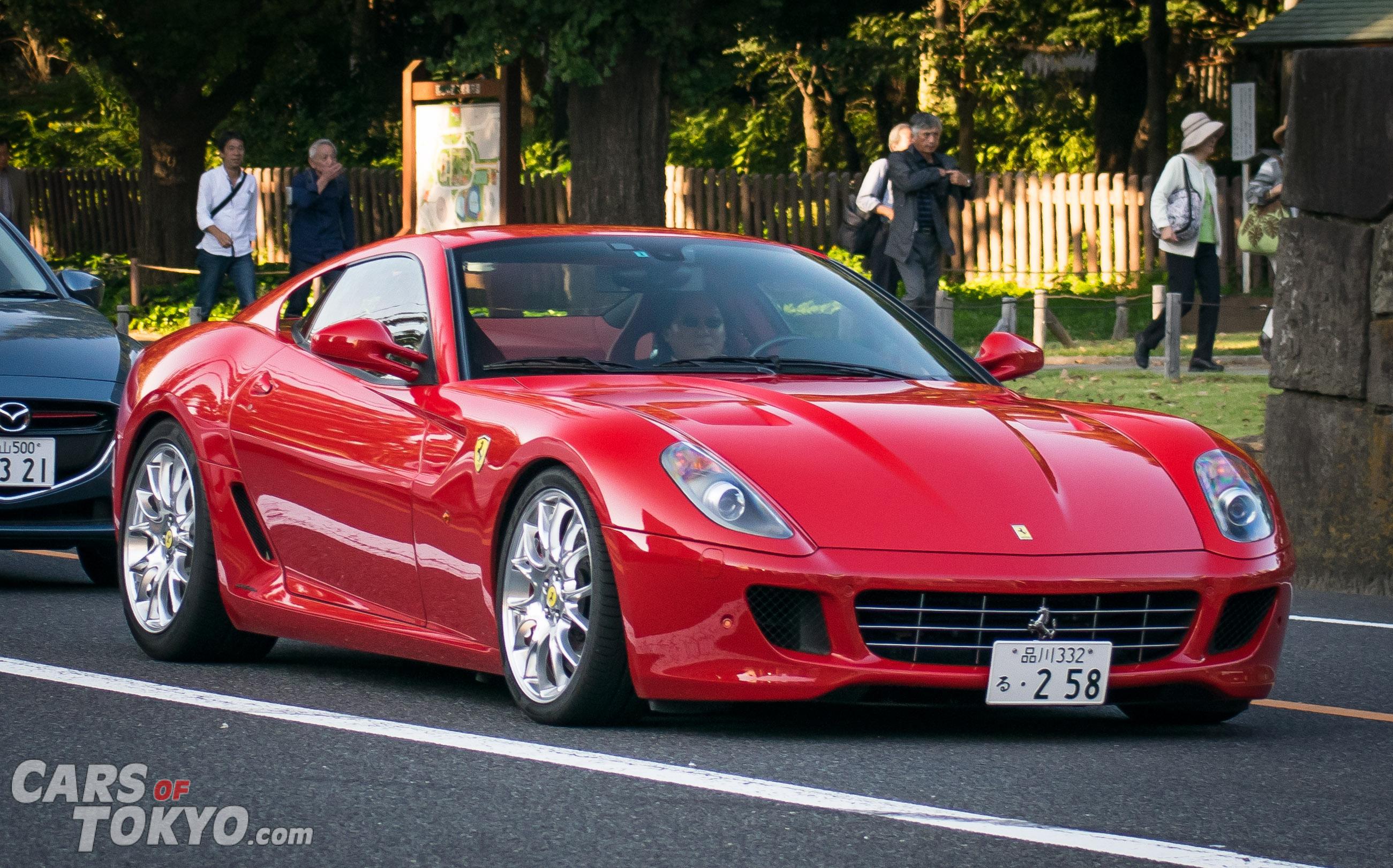 Cars of Tokyo Clean Ferrari 599 GTB