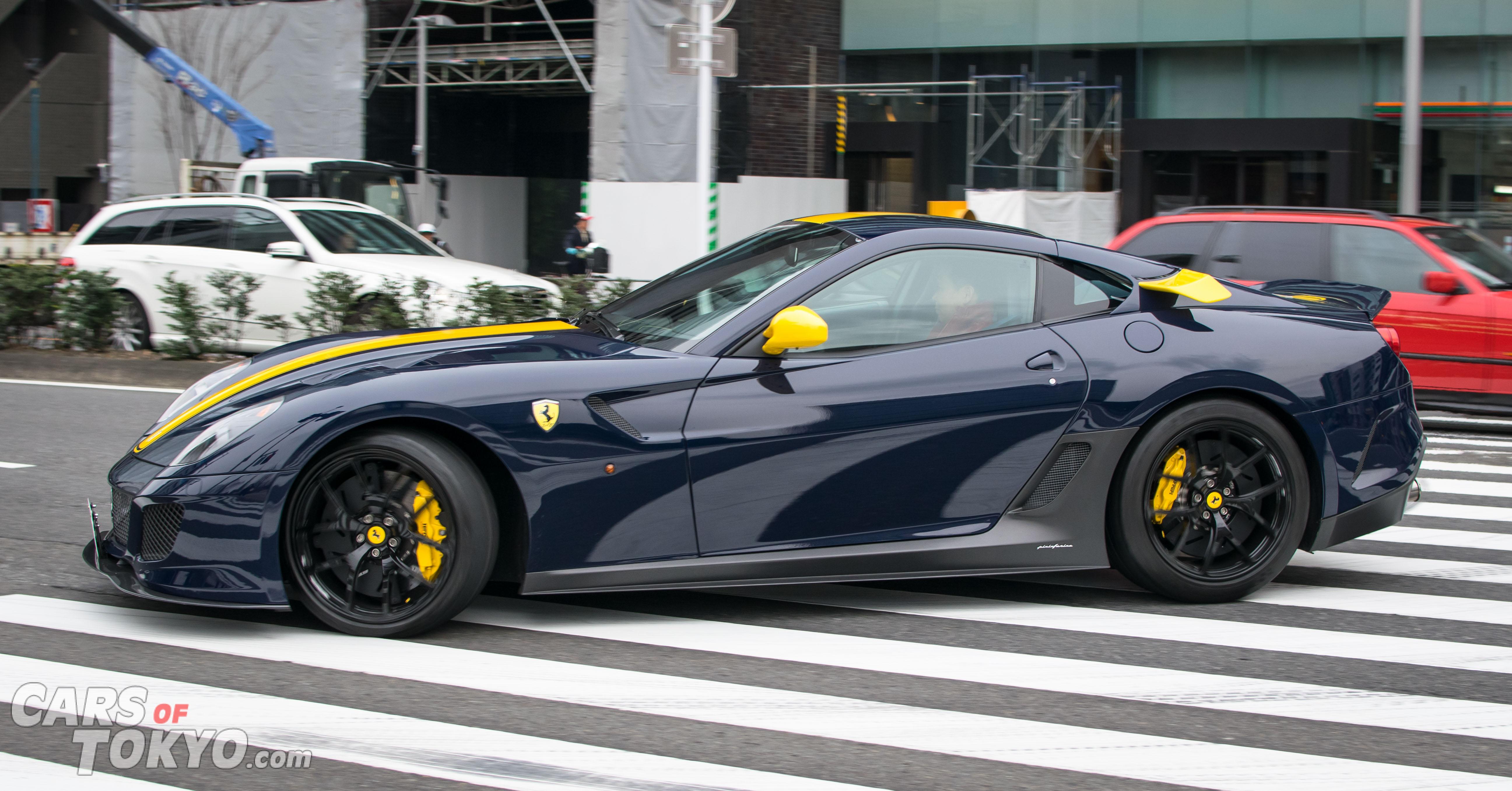 Cars of Tokyo Clean Ferrari 599 GTO