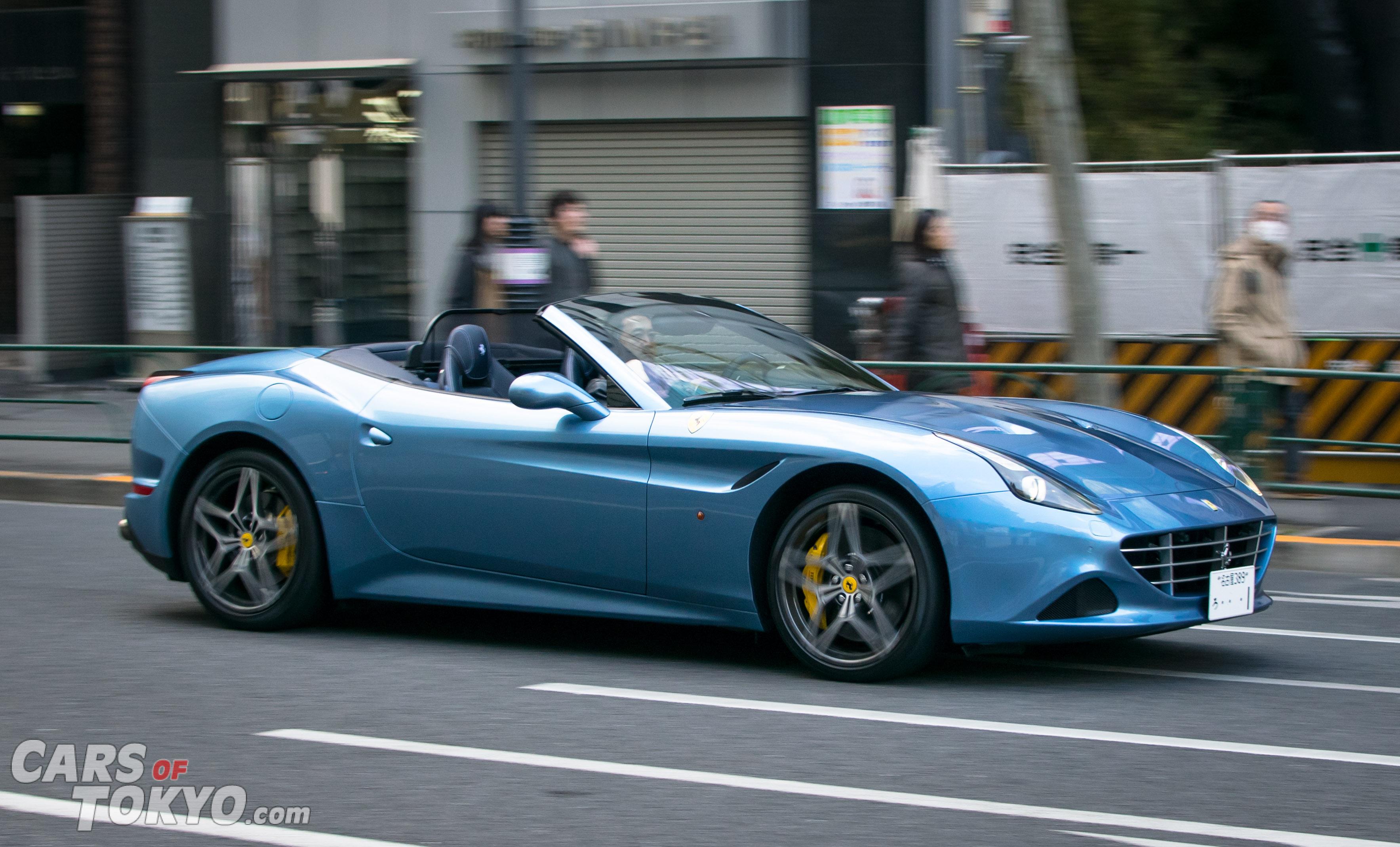 Cars of Tokyo Clean Ferrari California T