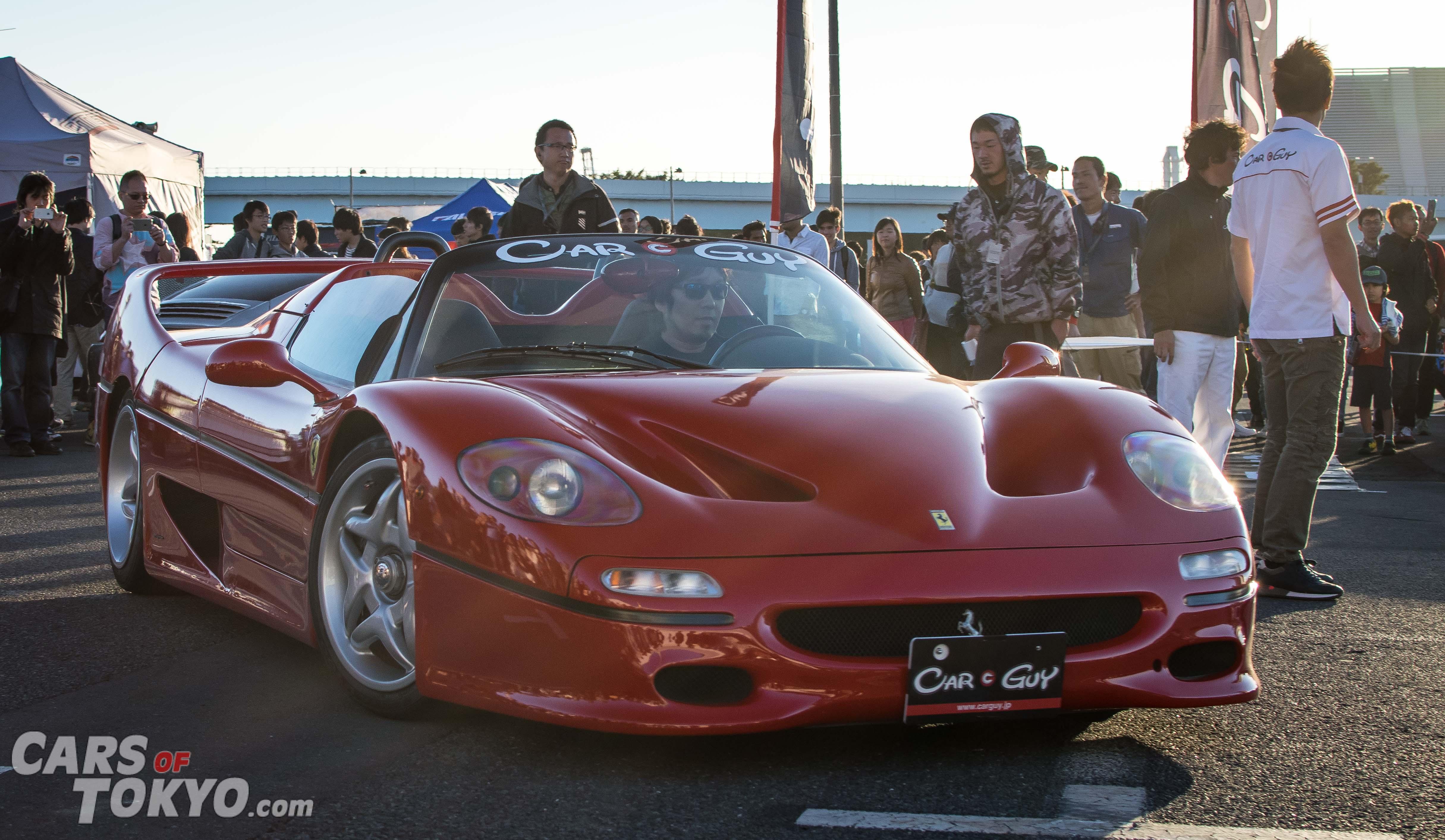 Cars of Tokyo Clean Ferrari F50
