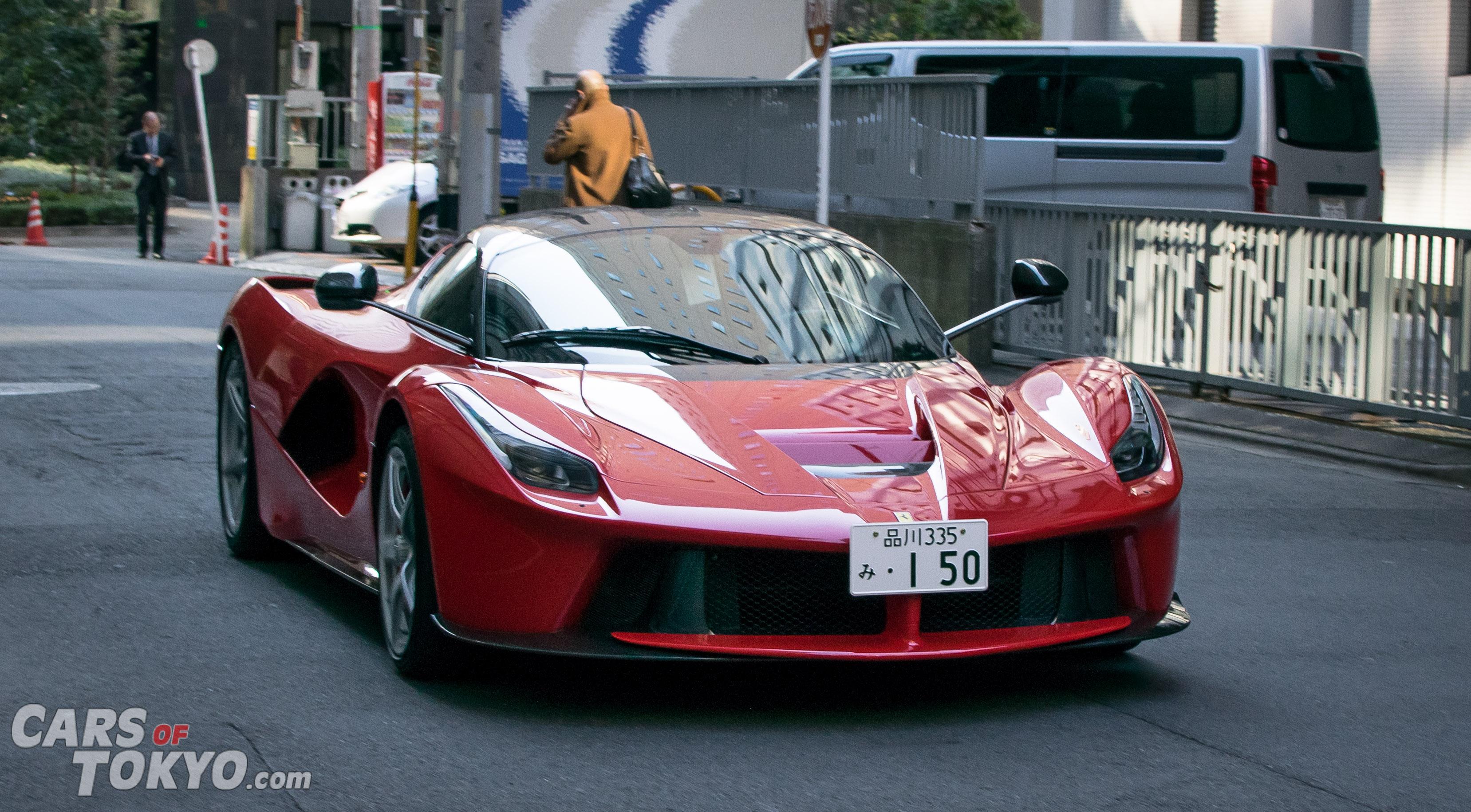 Cars of Tokyo Clean Ferrari LaFerrari