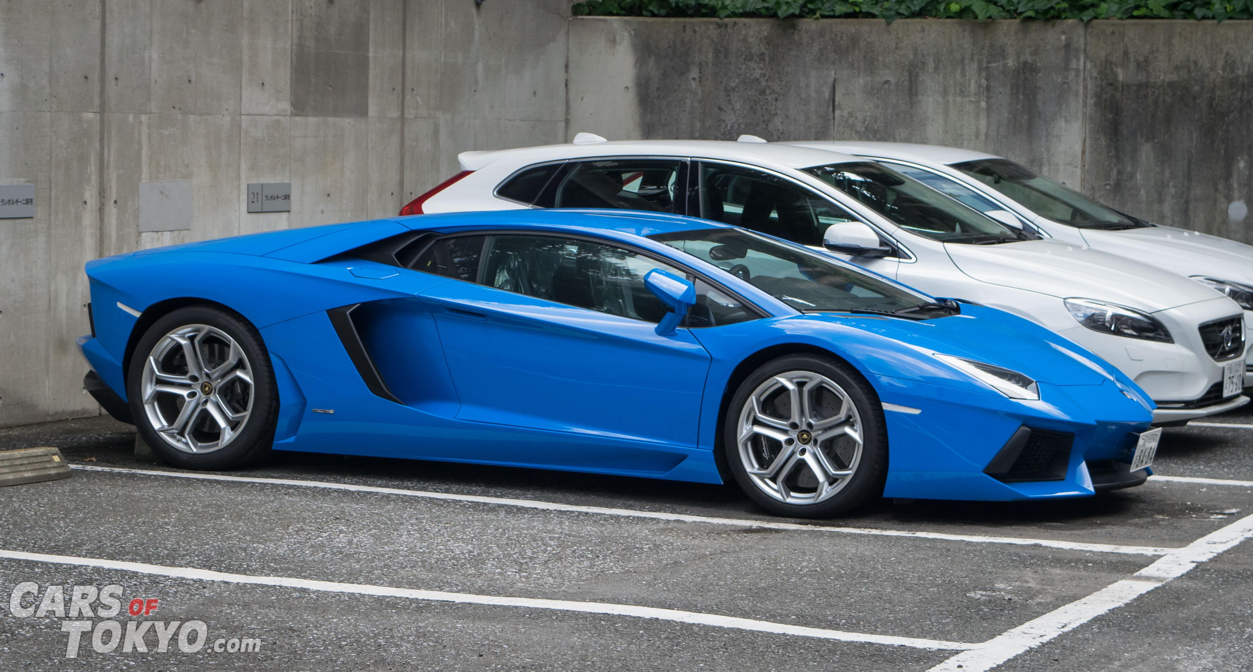 Cars of Tokyo Clean Lamborghini Aventador