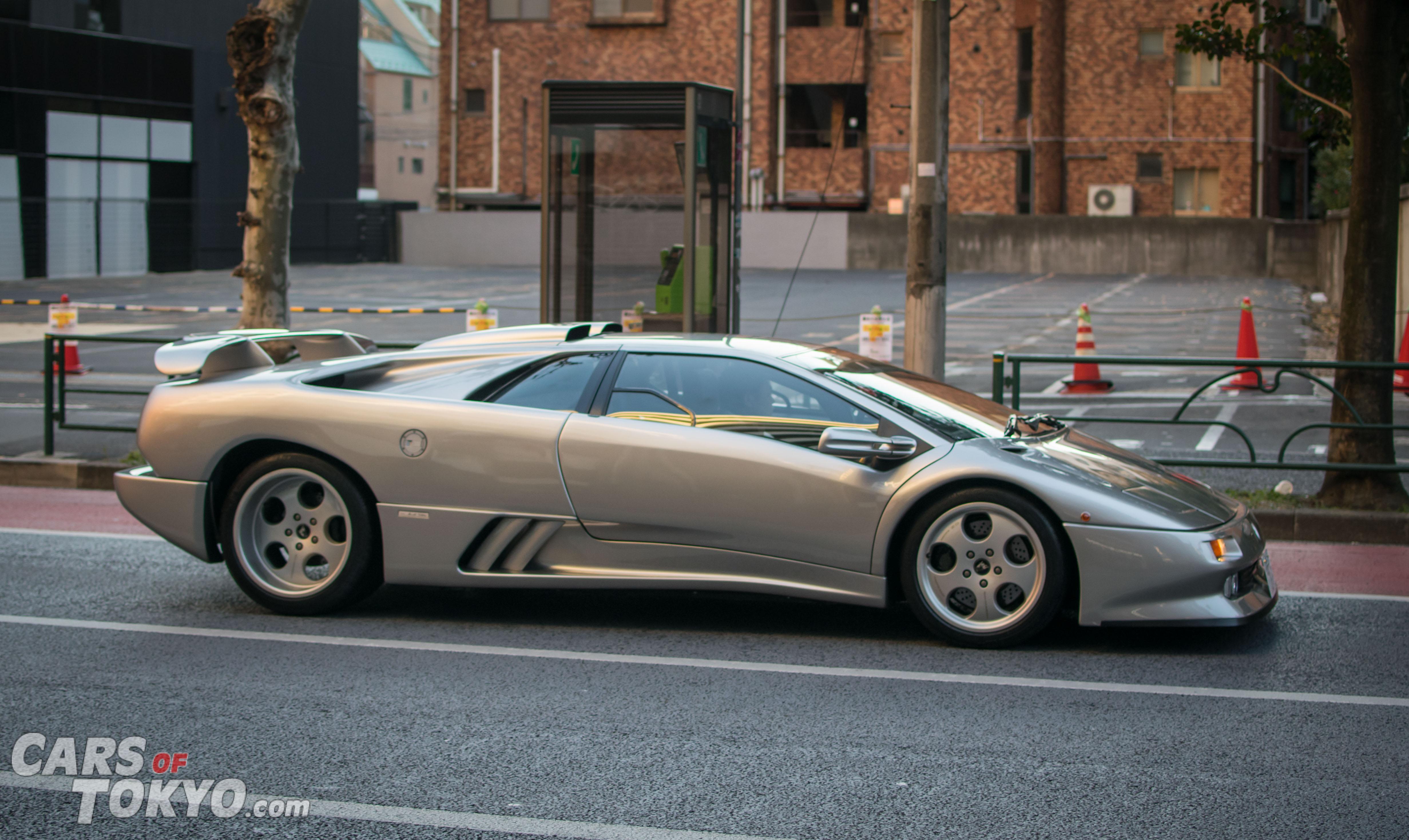 Cars of Tokyo Clean Lamborghini Diablo SE30 Jota