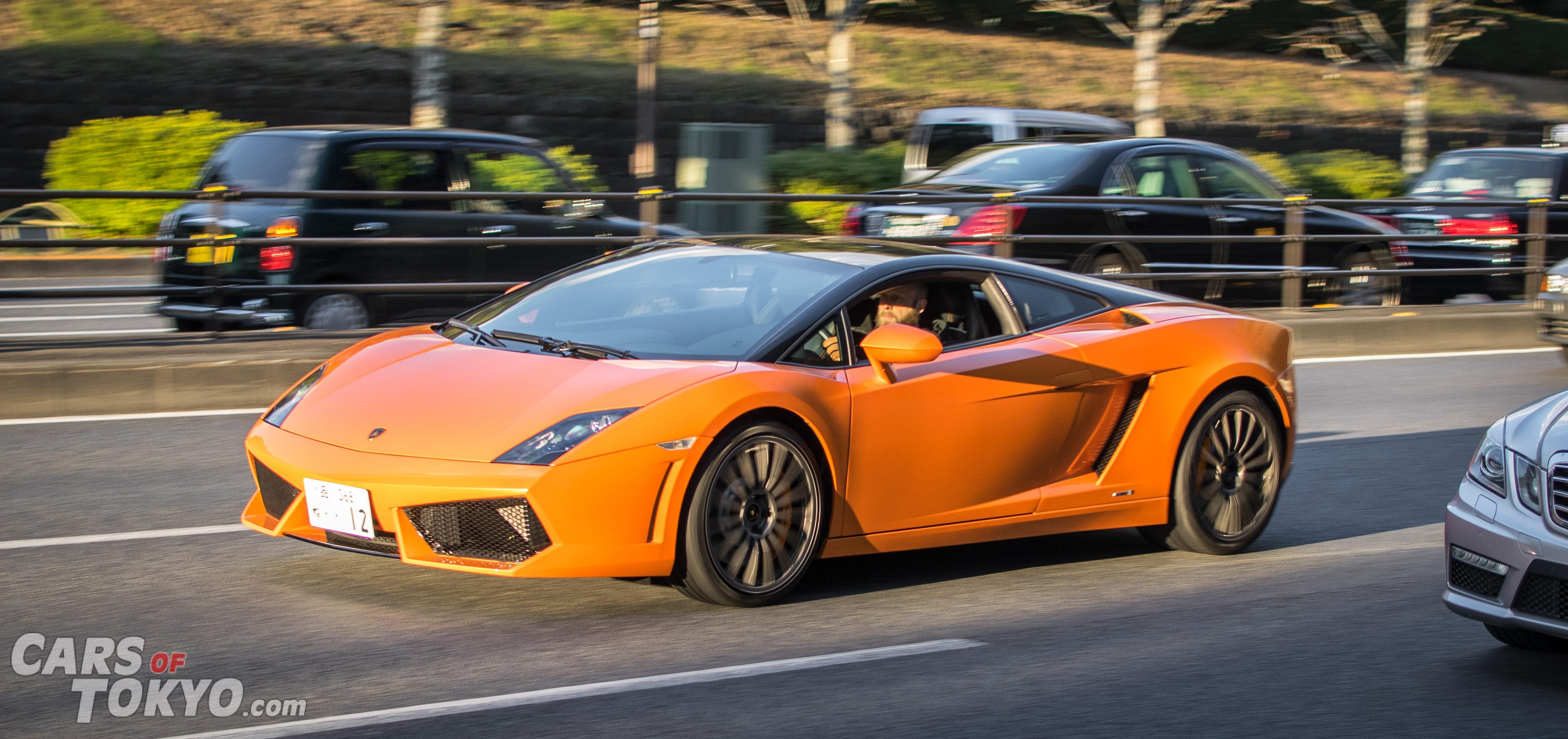 Cars of Tokyo Clean Lamborghini Gallardo Bicolore