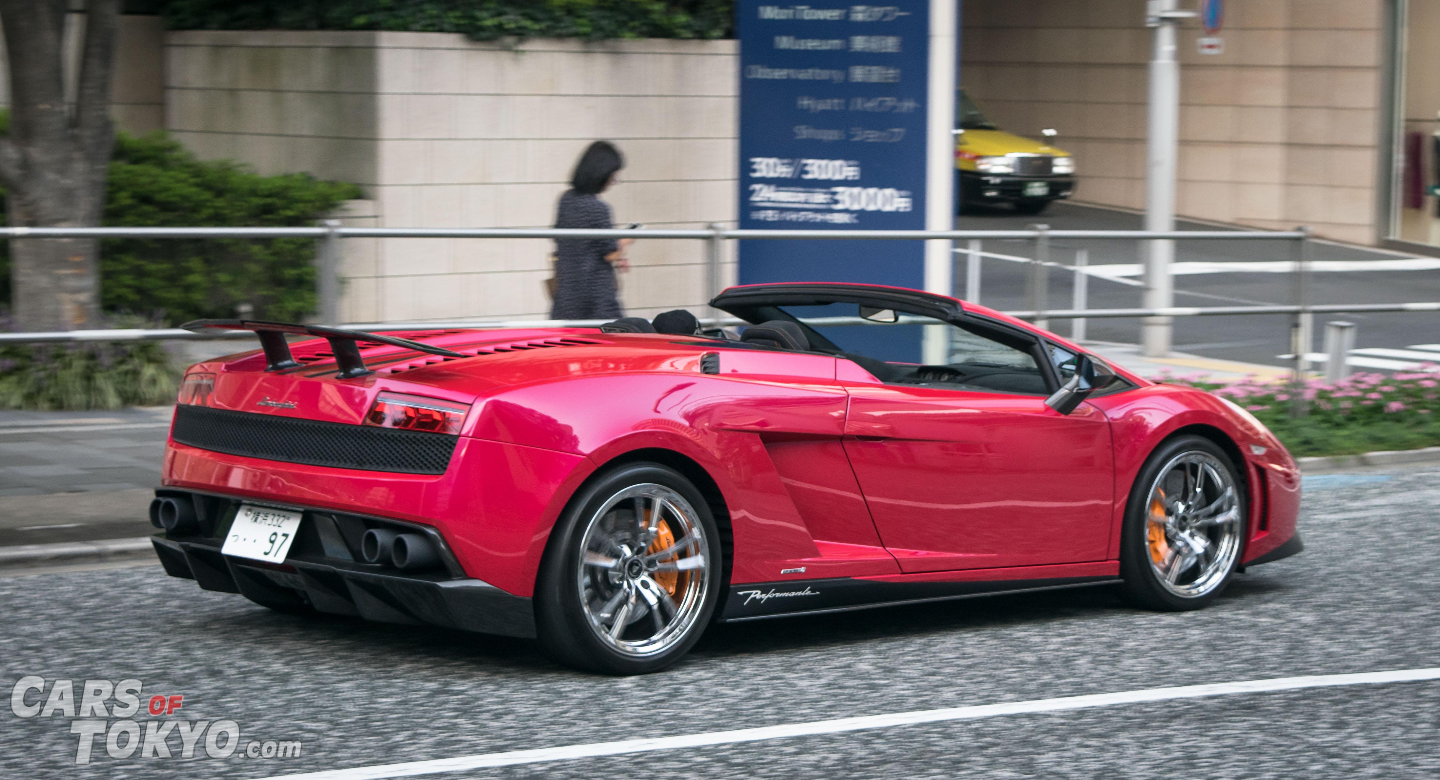 Cars of Tokyo Clean Lamborghini Gallardo Performante.