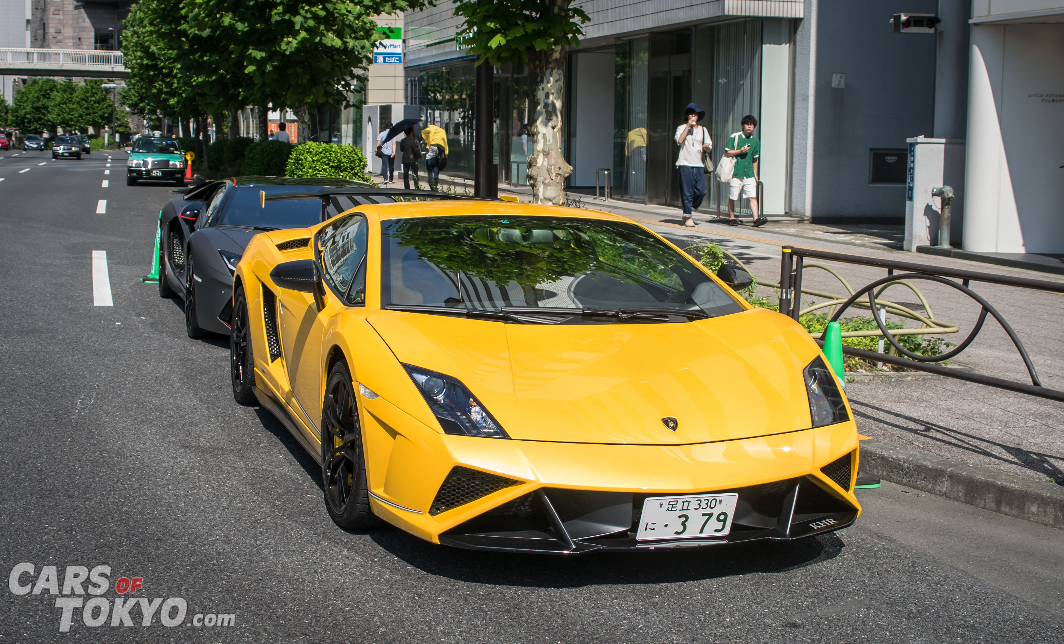 Cars of Tokyo Clean Lamborghini Gallardo Squadra Corsa