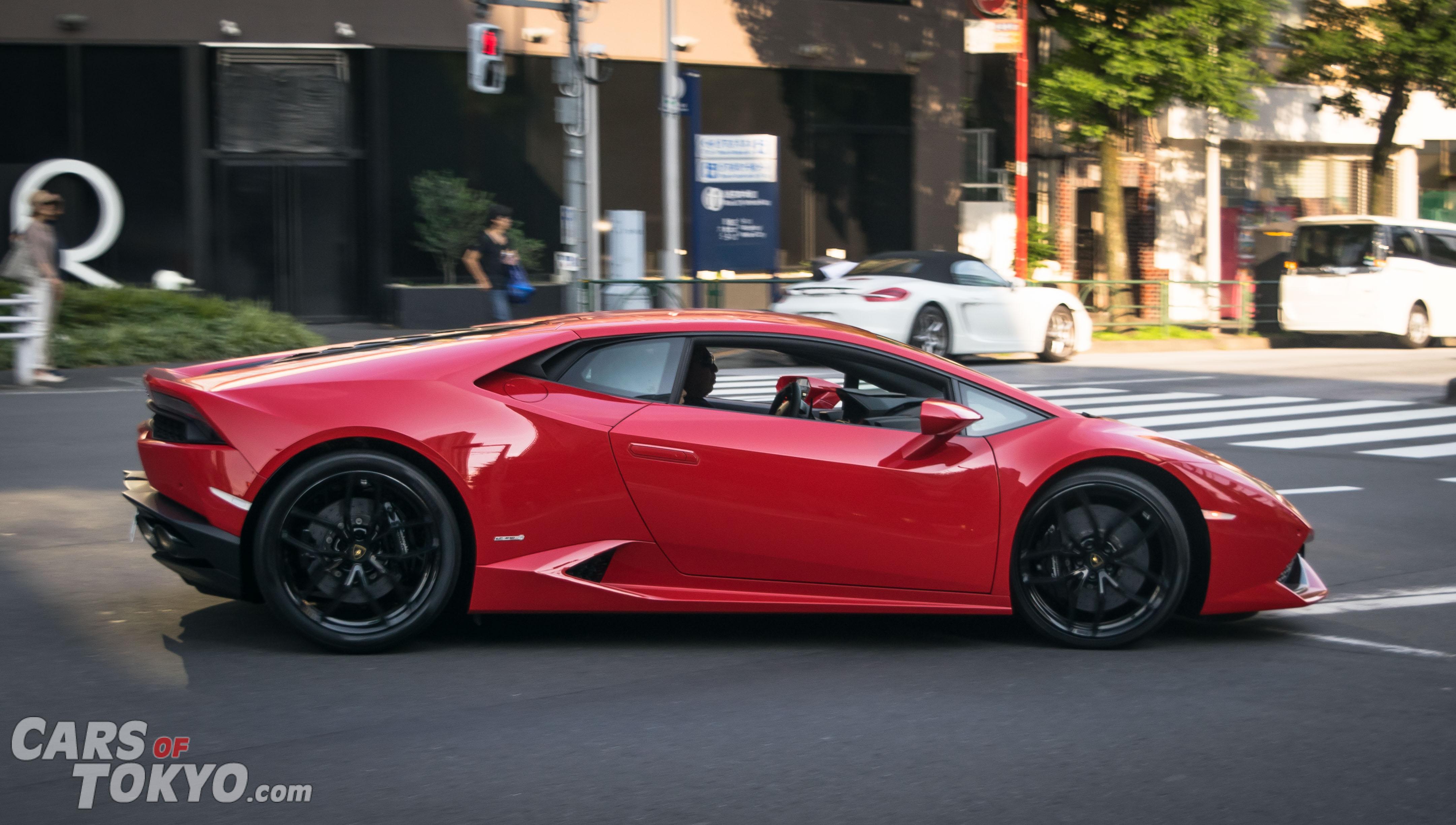 Cars of Tokyo Clean Lamborghini Huracan