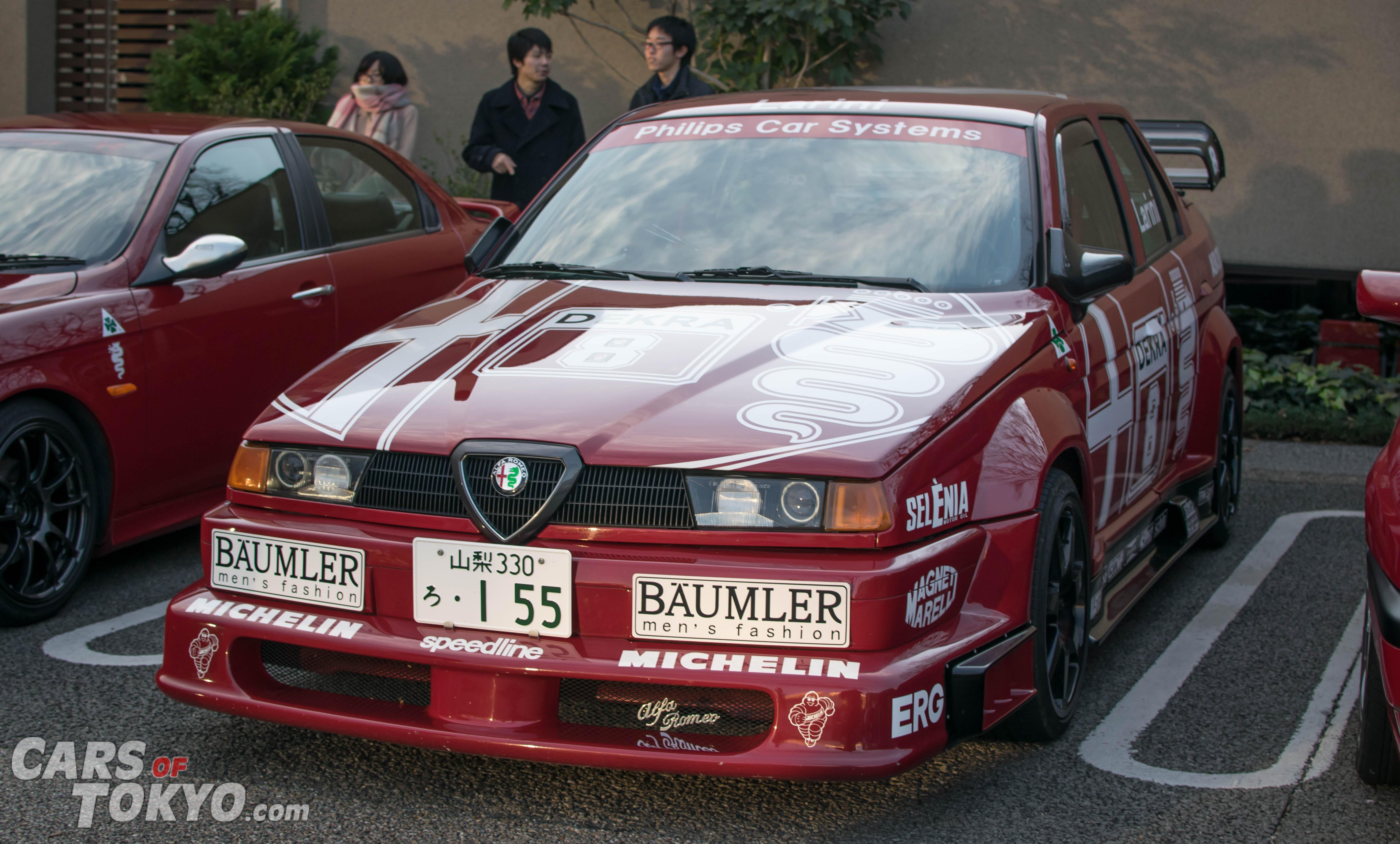 Cars of Tokyo Daikanyama Alfa Romeo 155