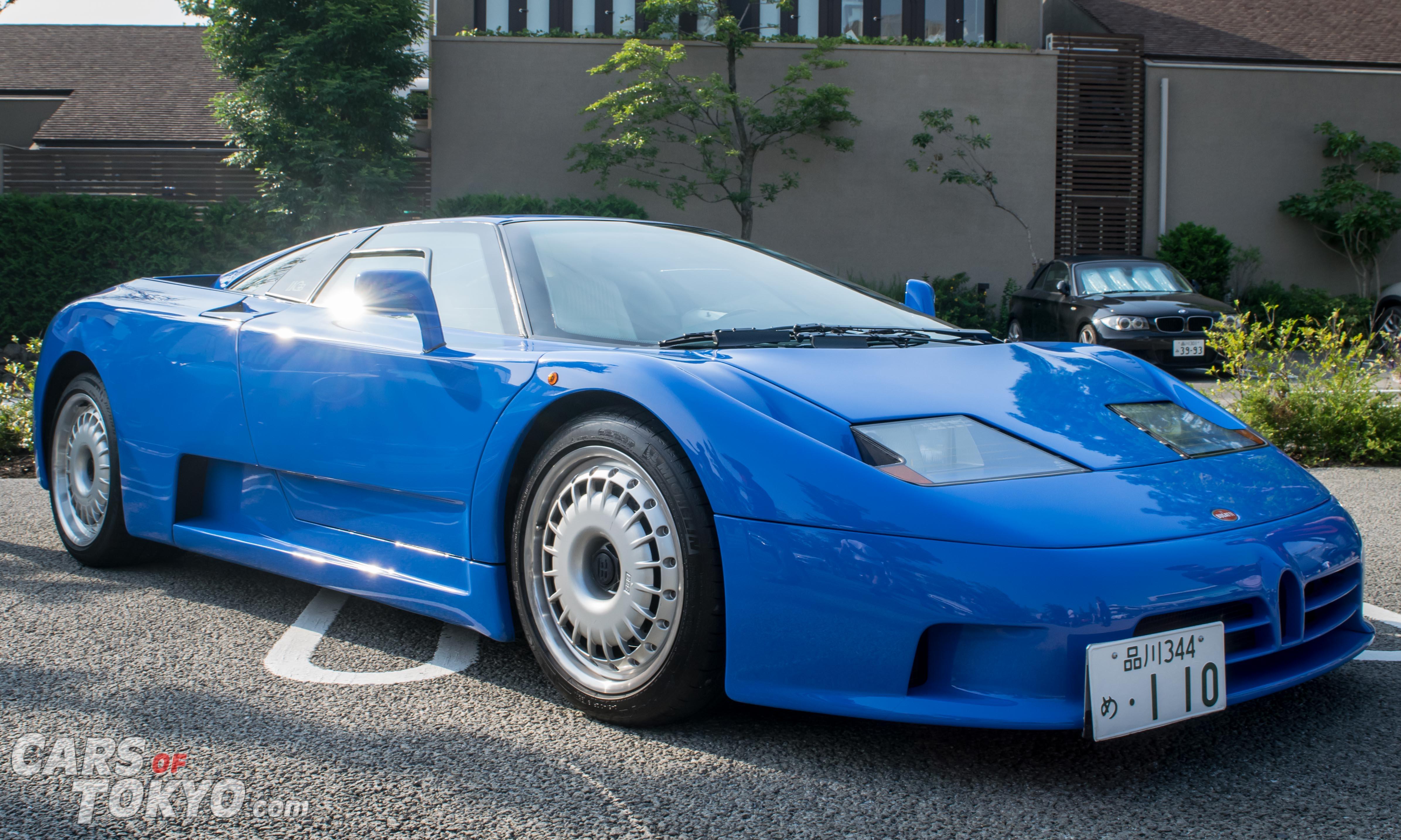 Cars of Tokyo Daikanyama Bugatti EB110