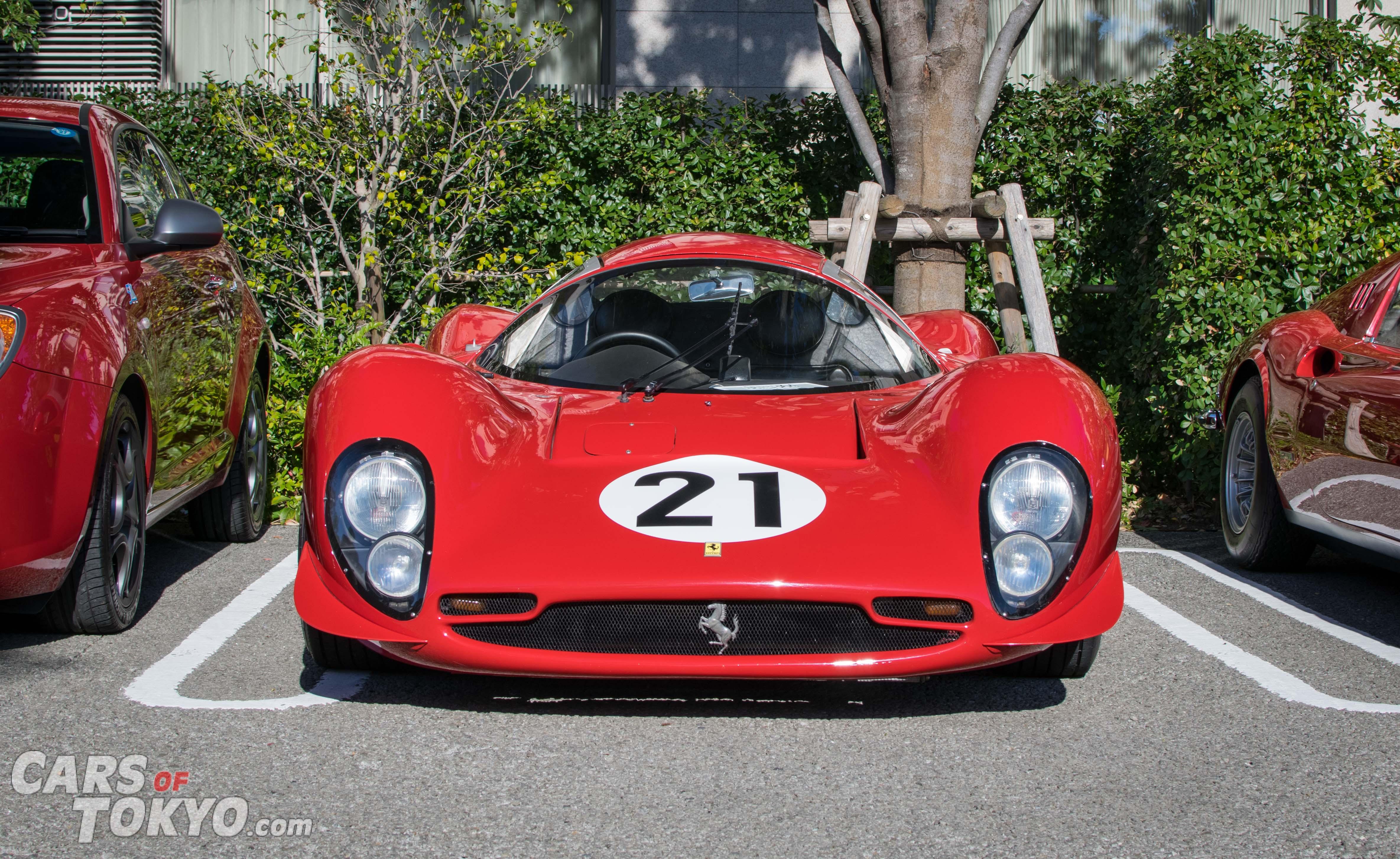 Cars of Tokyo Daikanyama Ferrari 330 P4