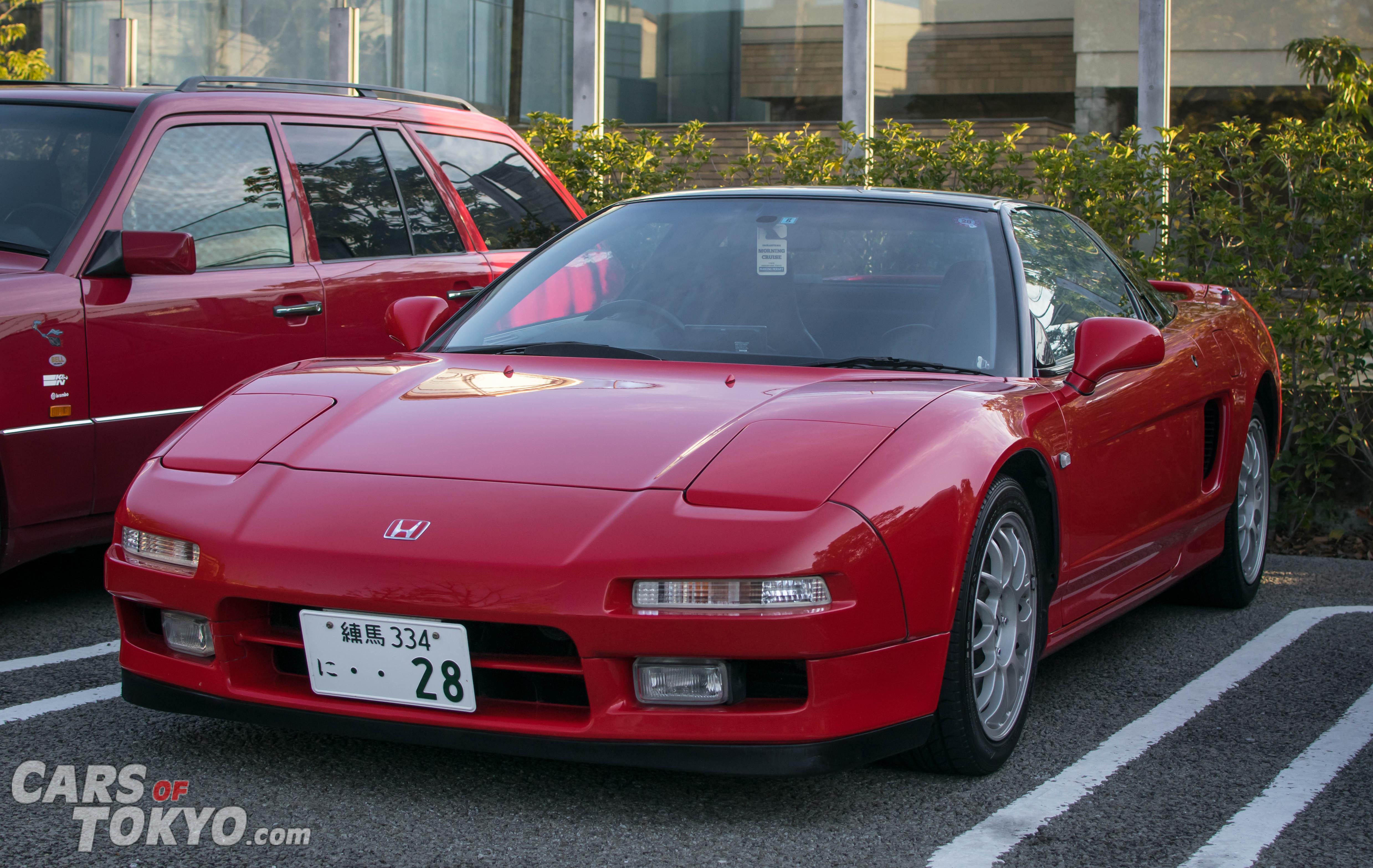 Cars of Tokyo Daikanyama Honda NSX