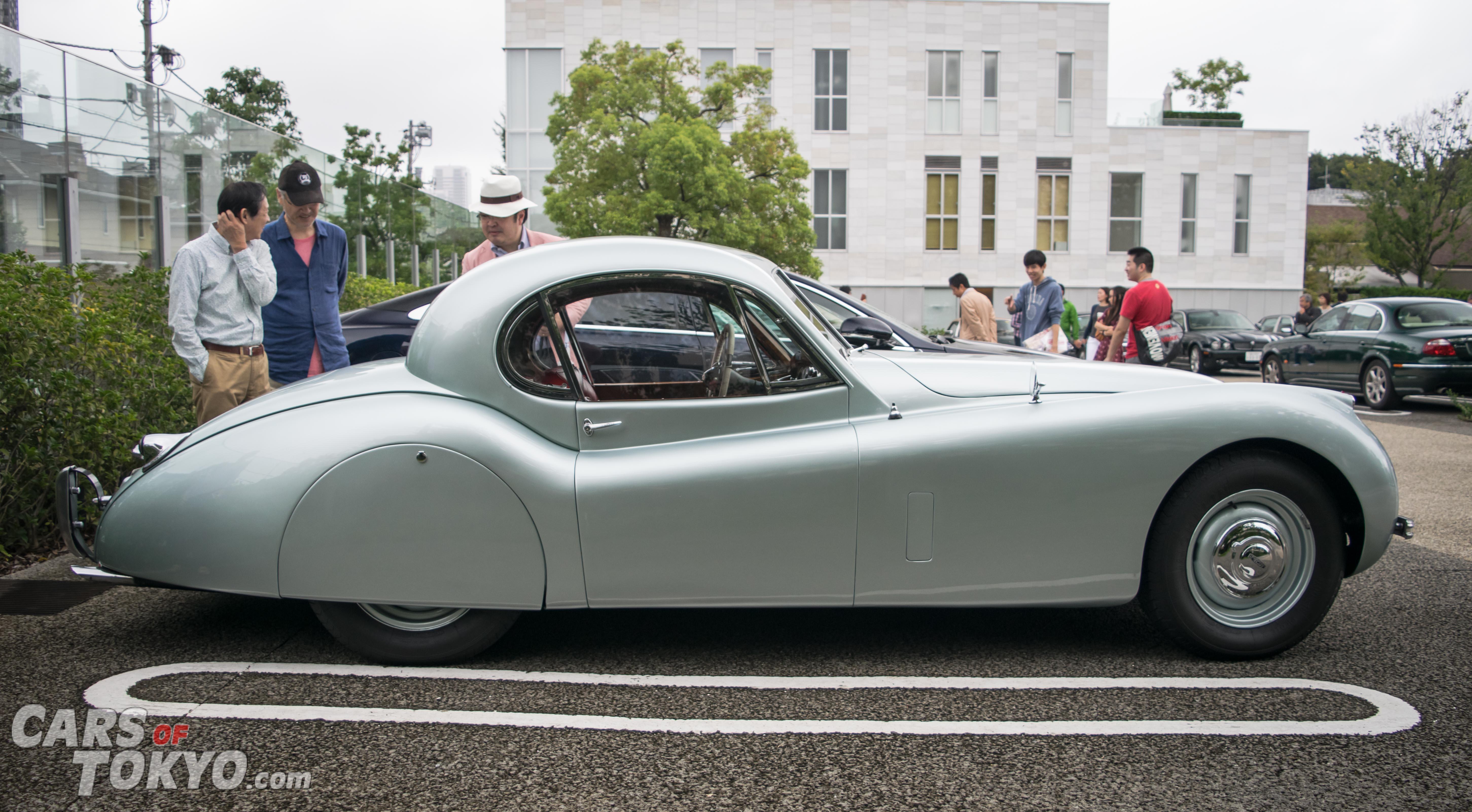 Cars of Tokyo Daikanyama Jaguar XK120