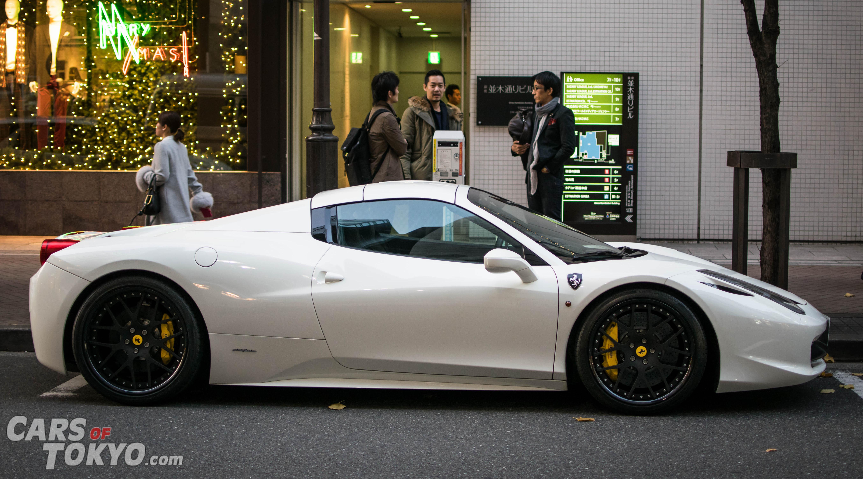 Cars of Tokyo Ginza Ferrari 458 Spider