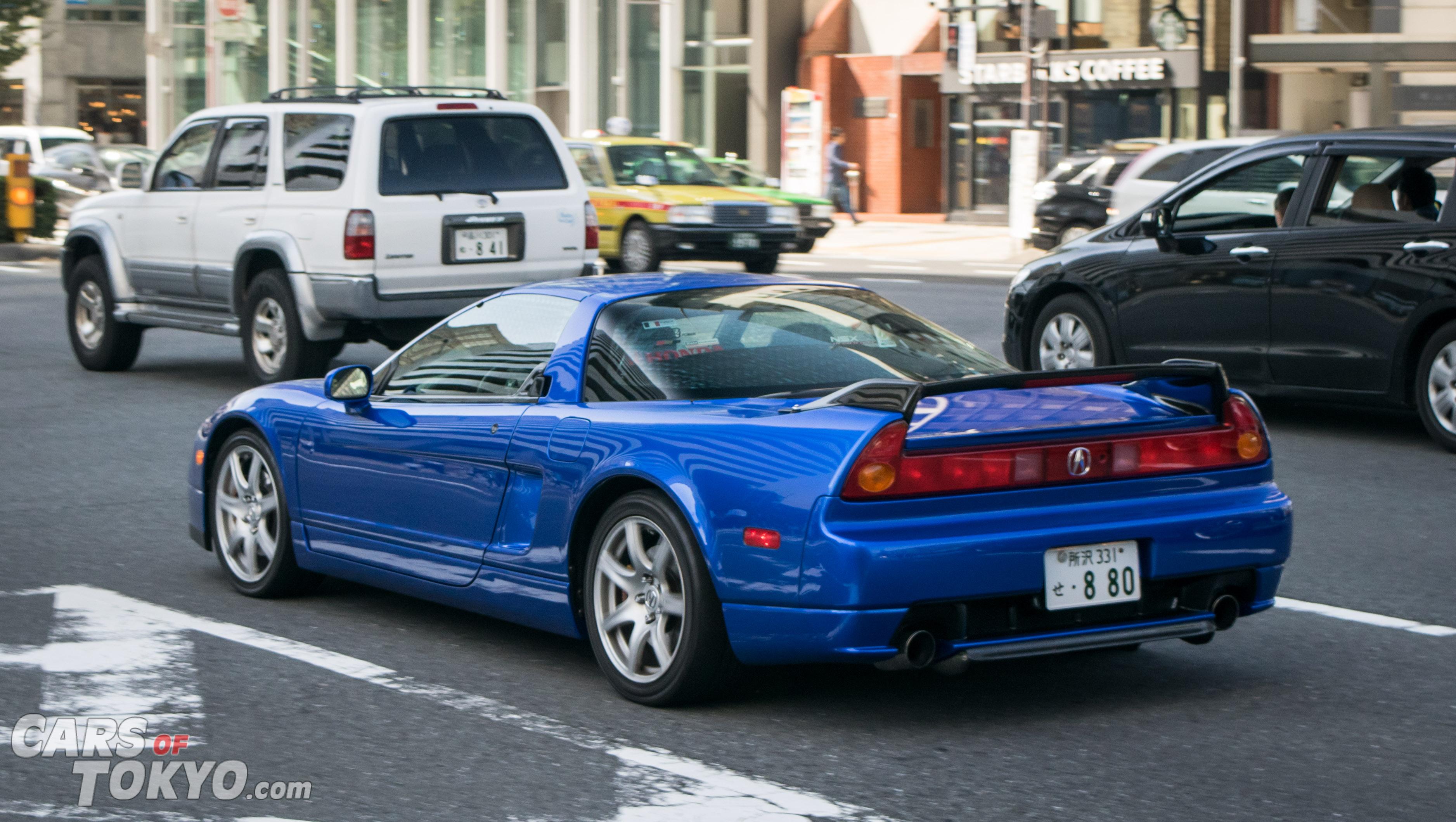 Cars of Tokyo NSX Acura NA2