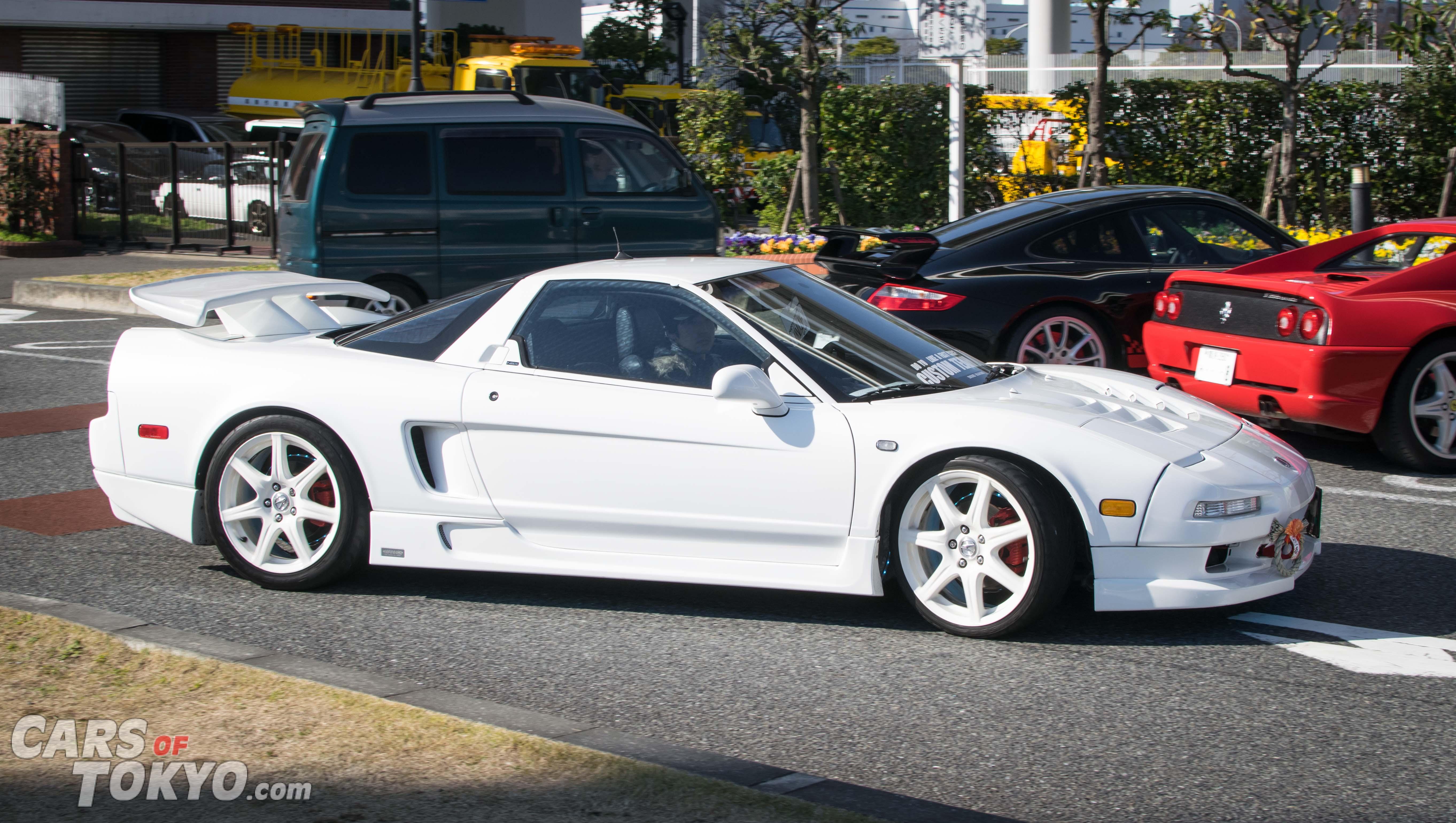 Cars of Tokyo NSX White