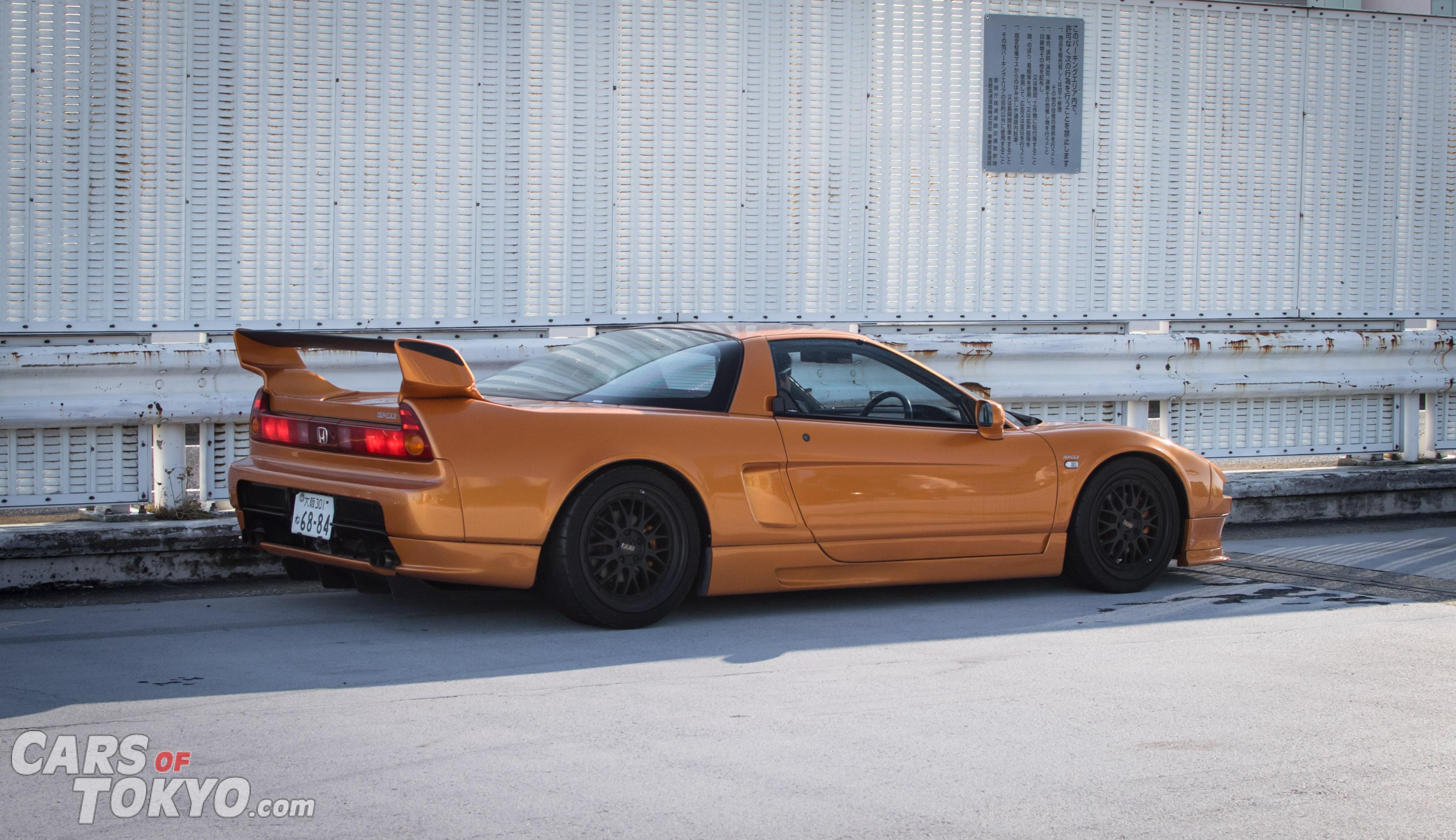 Cars of Tokyo NSX Orange