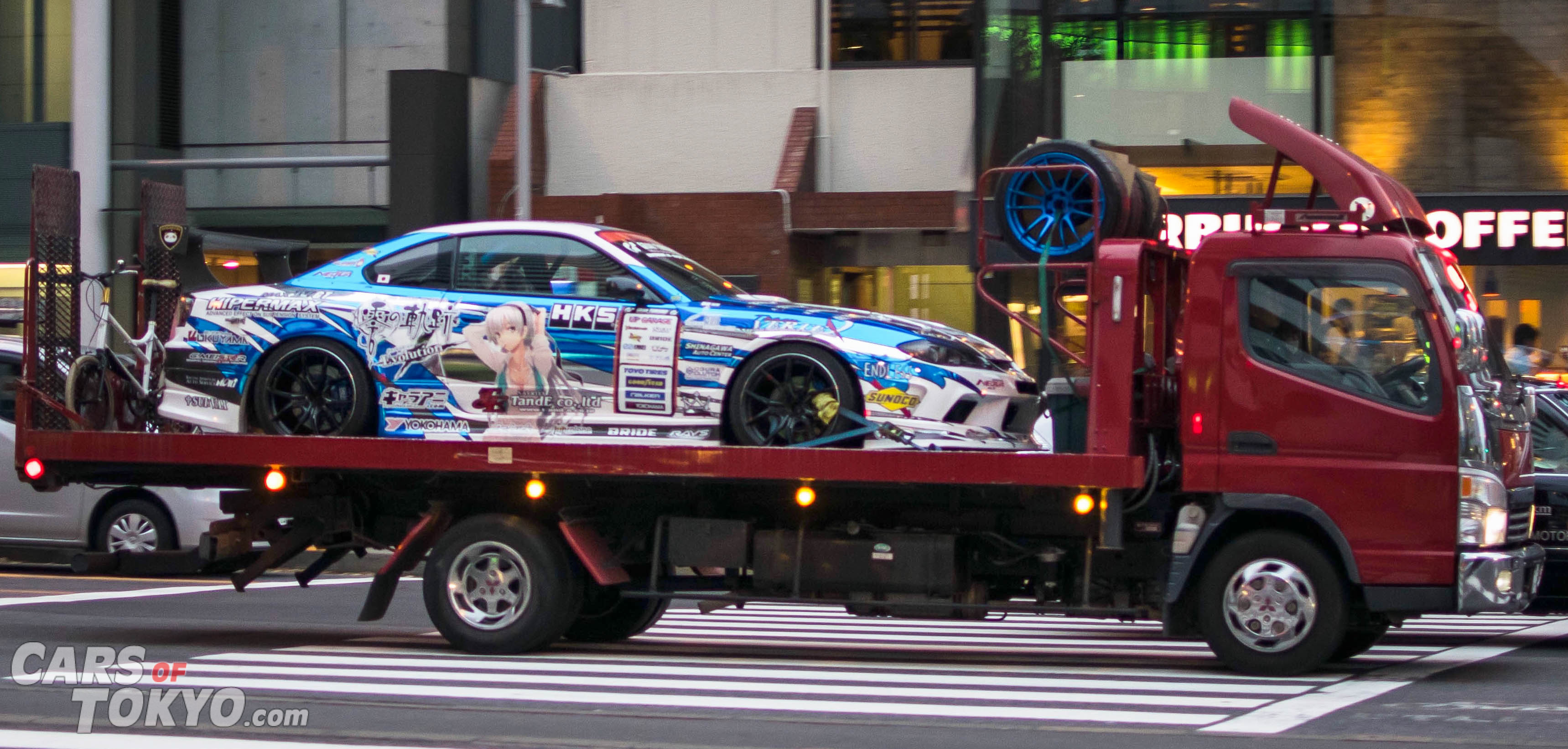 Cars of Tokyo Nissan S15 Drift