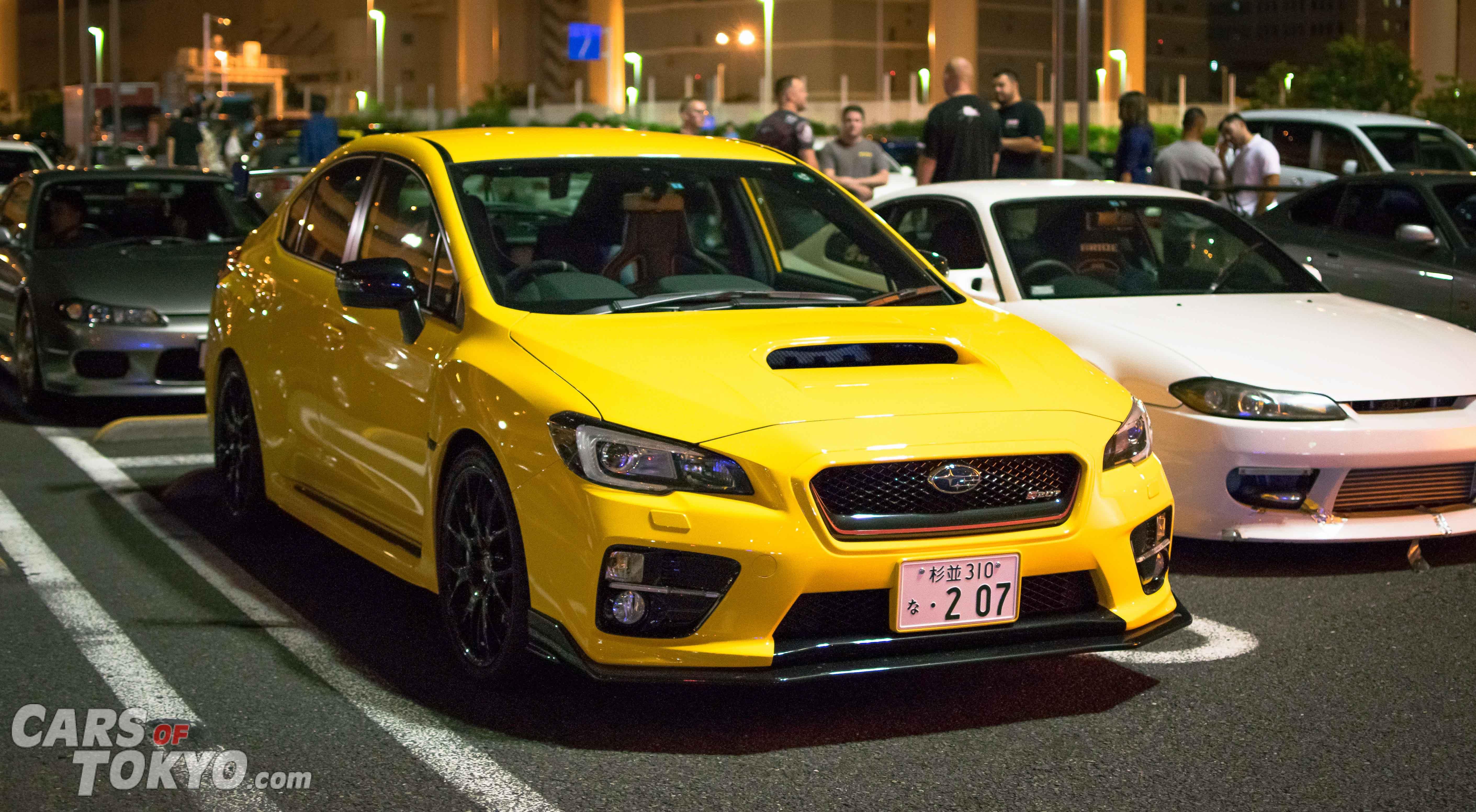 Cars of Tokyo Subaru WRX STi S207