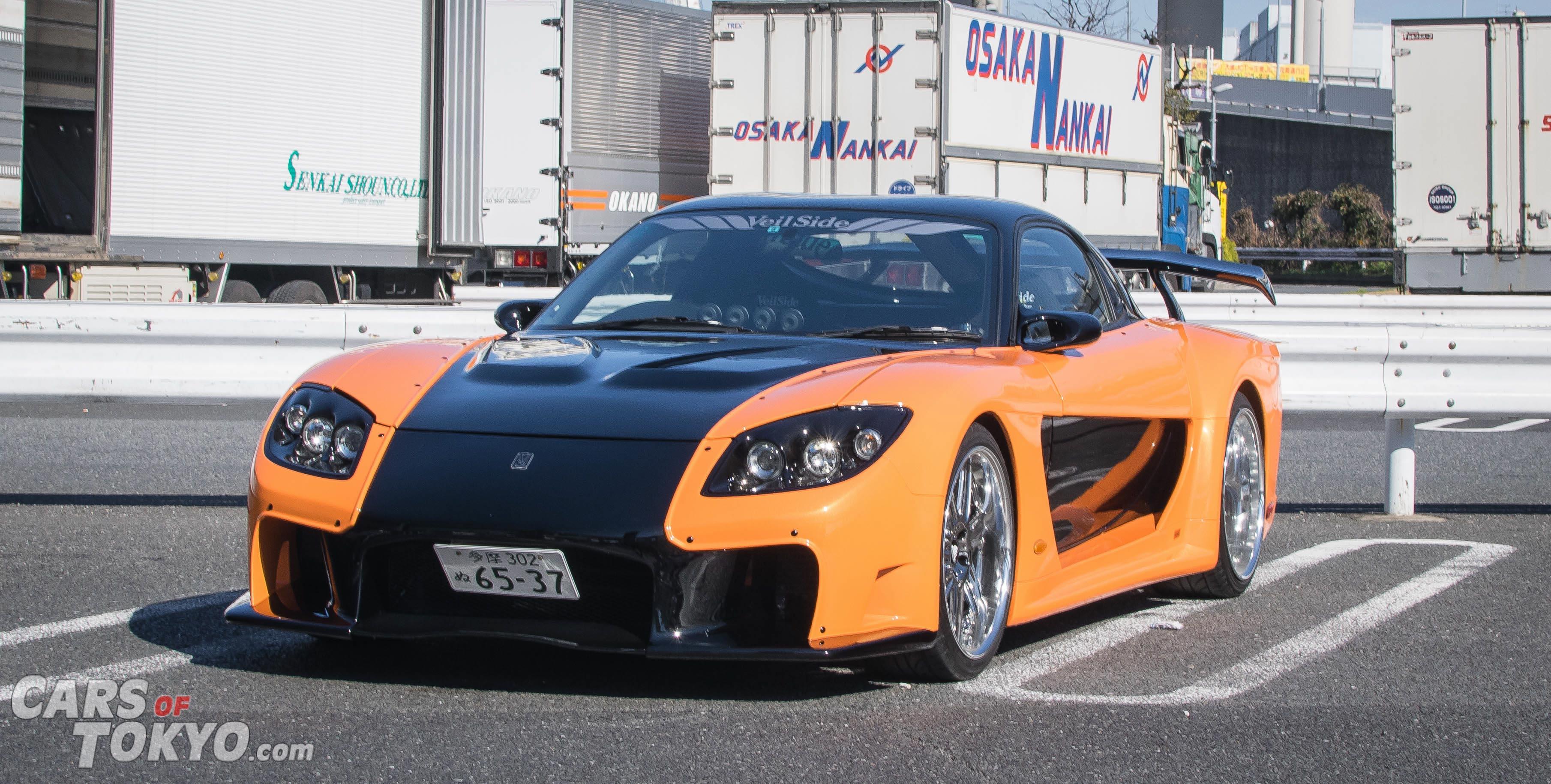 Cars of Tokyo Veilside RX7