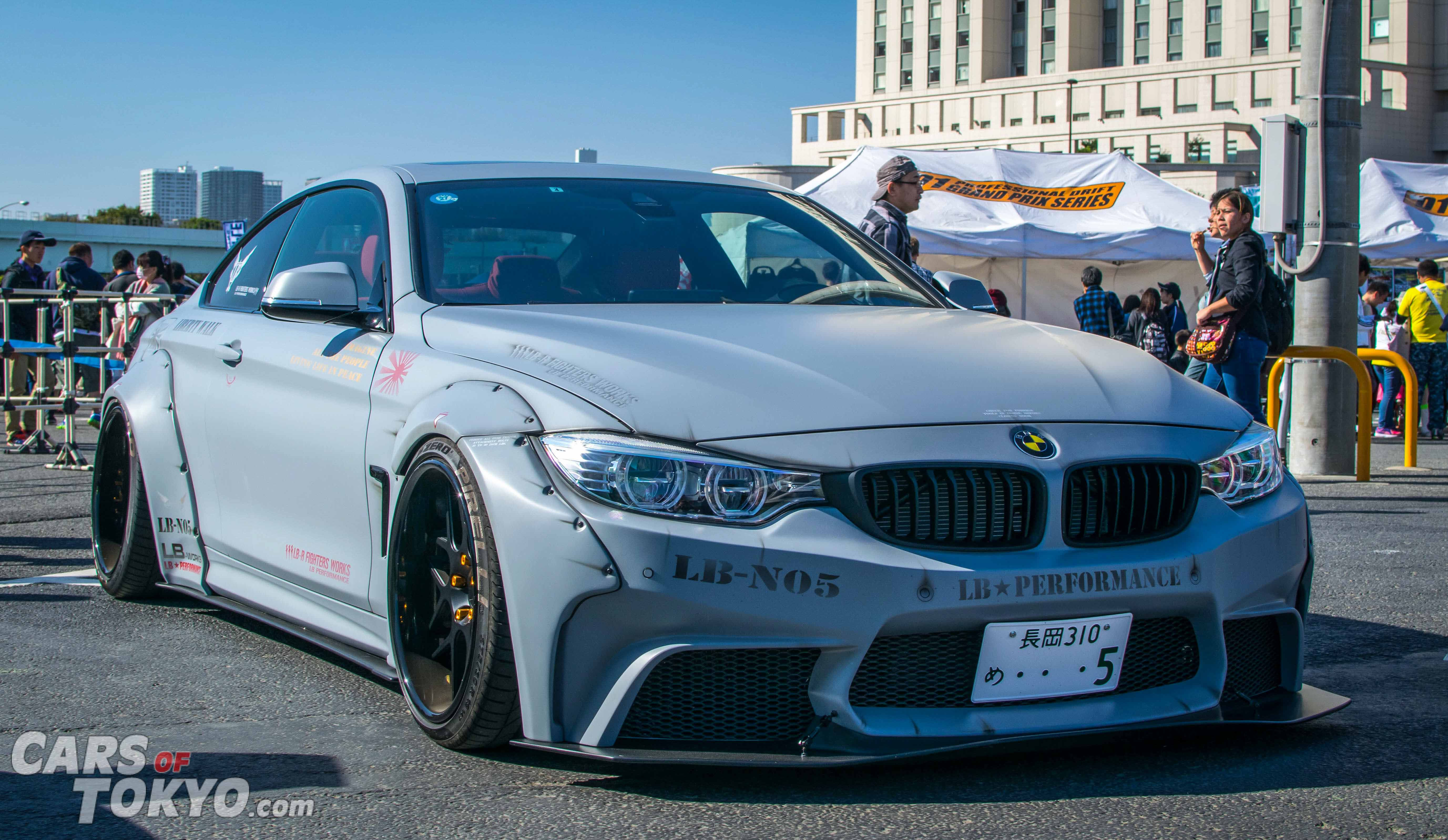 Cars of Tokyo Liberty Walk BMW 4-Series