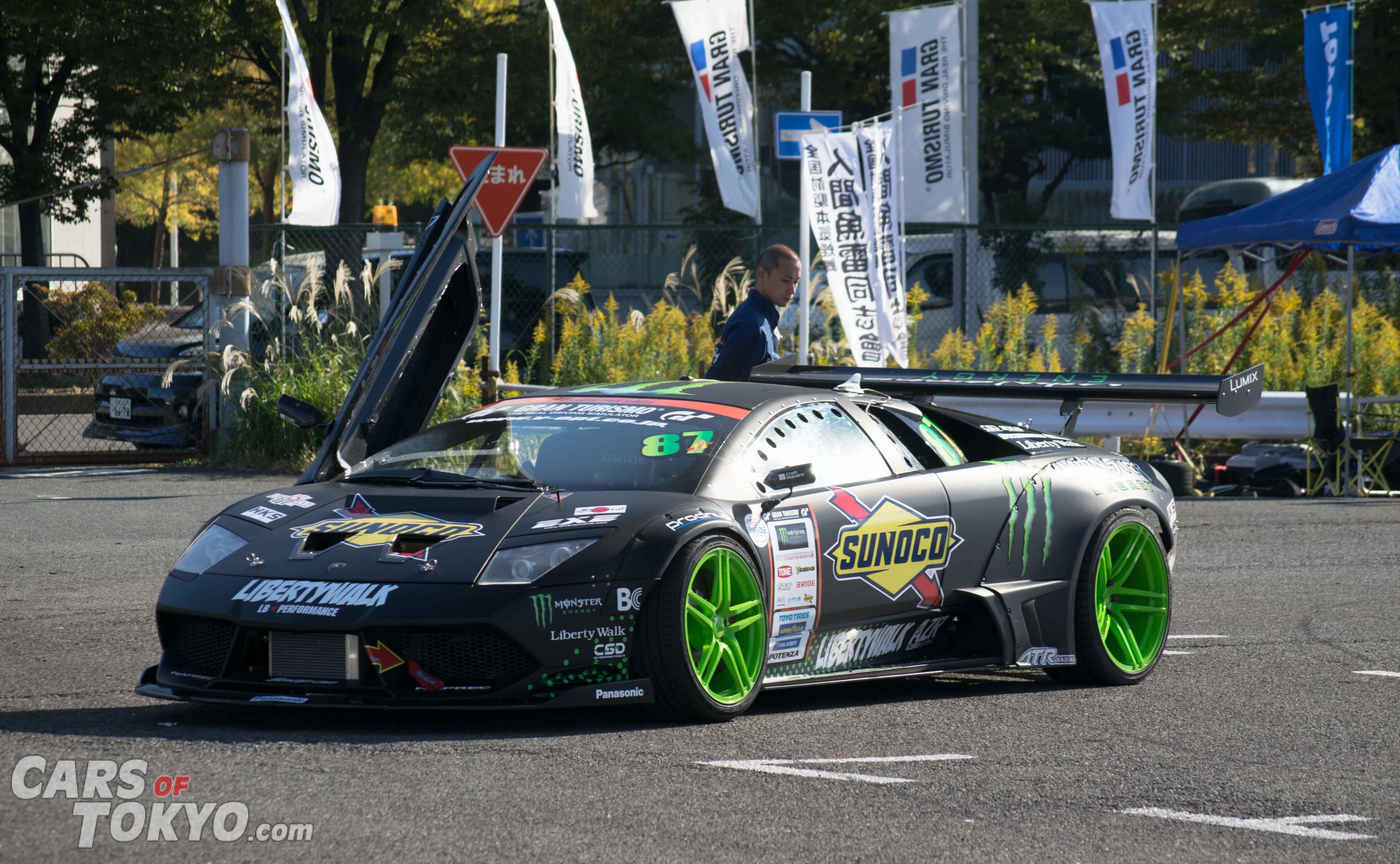 Cars of Tokyo Liberty Walk Lamborghini Murcielago Drift Car