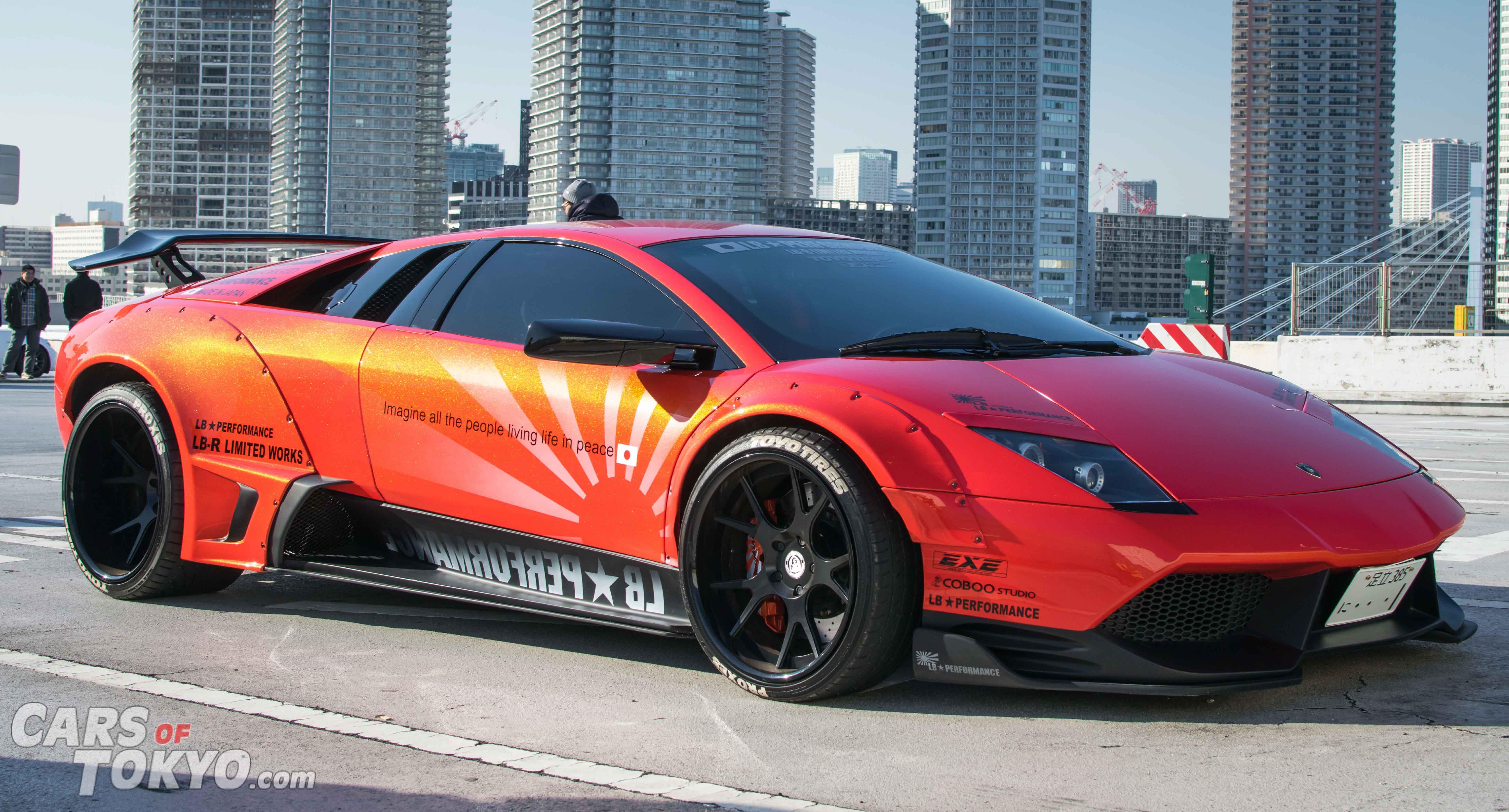 Cars of Tokyo Liberty Walk Lamborghini Murcielago Orange