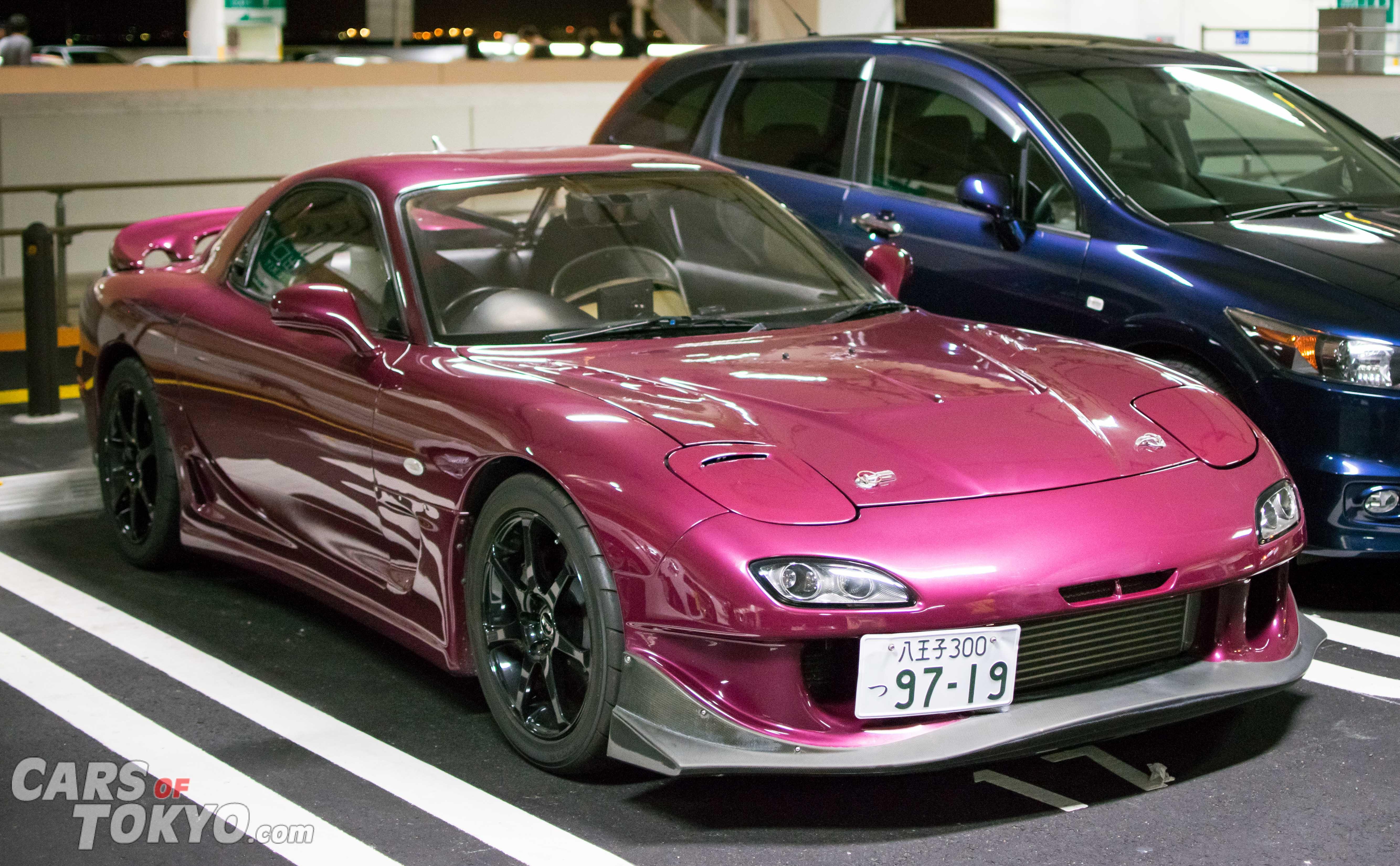 Cars of Tokyo Mazda RX7 Purple