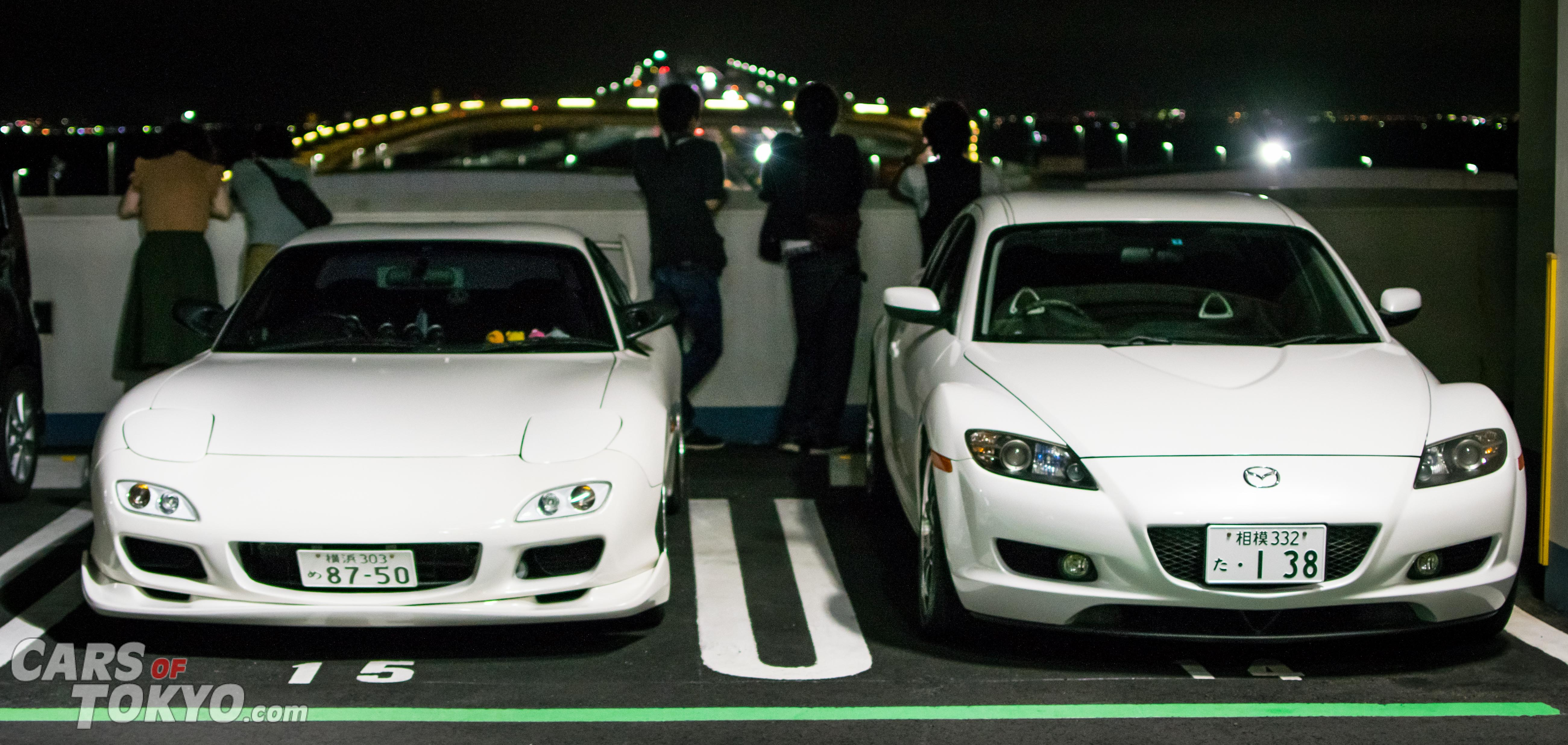 Cars of Tokyo Mazda RX7 RX8