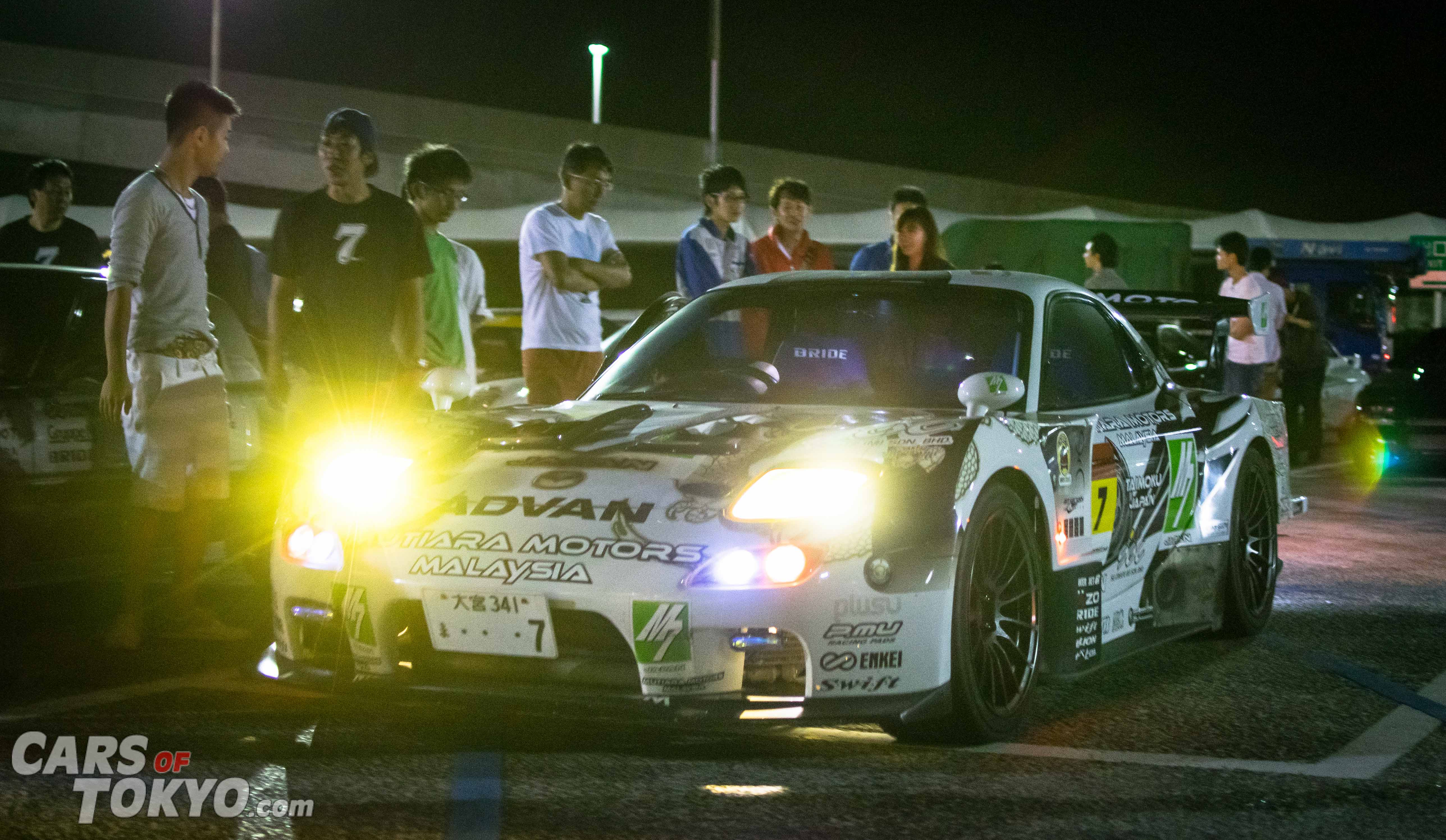 Cars of Tokyo Mazda RX7 Time Attack